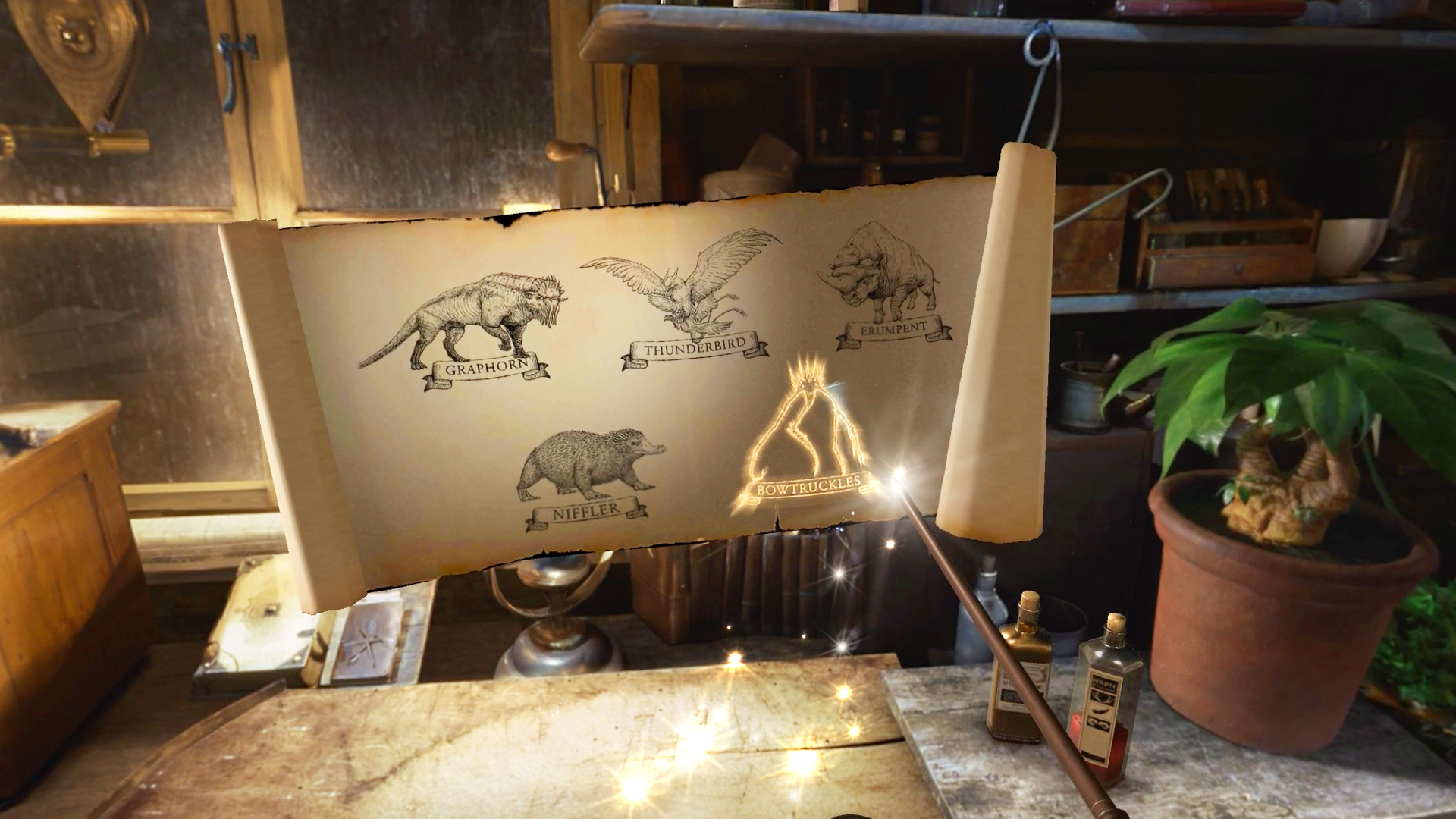 WB VR Fantastic Beasts VR screenshot scroll sketches 1920x1080 300dpi 04
