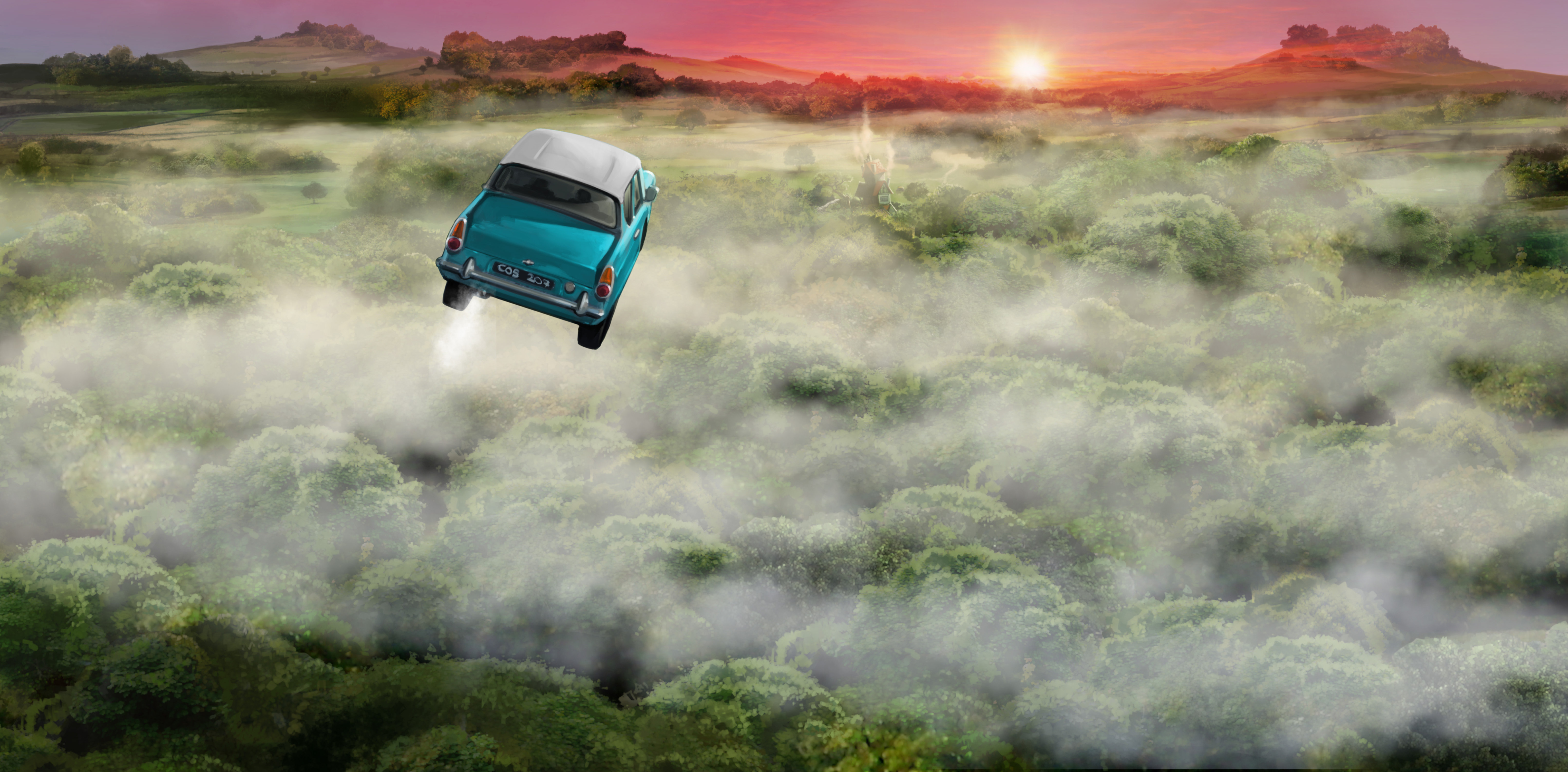 FordAnglia PM B2C3M2 FordAngliaFlyingAboveTheClouds Moment