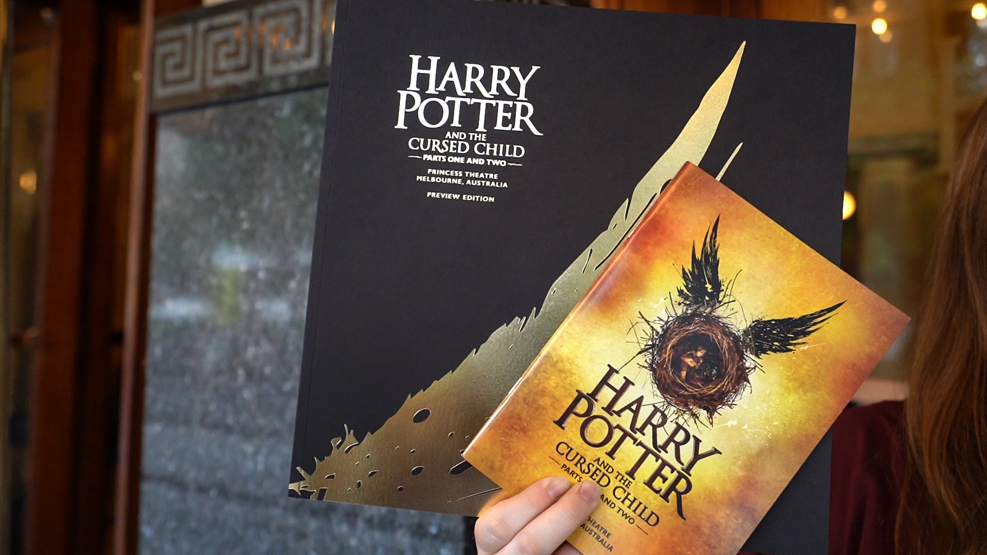 Cursed Child Australia fan ticket giveway