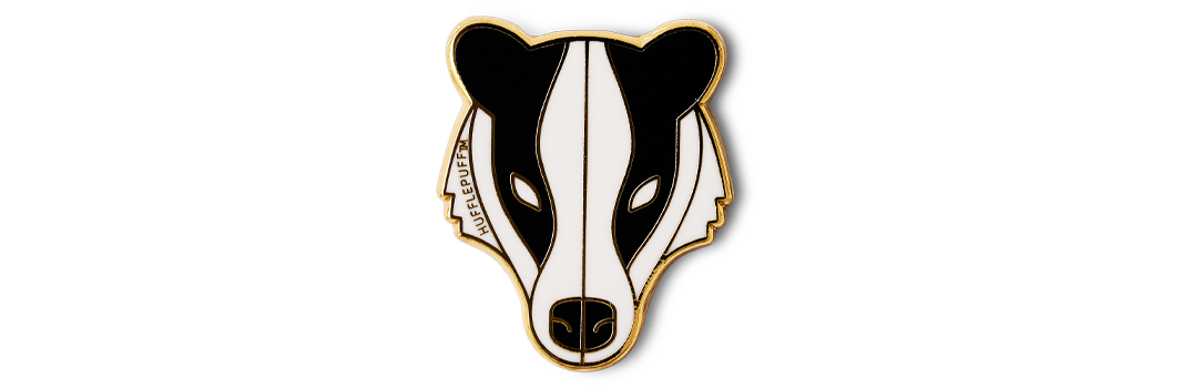 hufflepuff-badger-pin