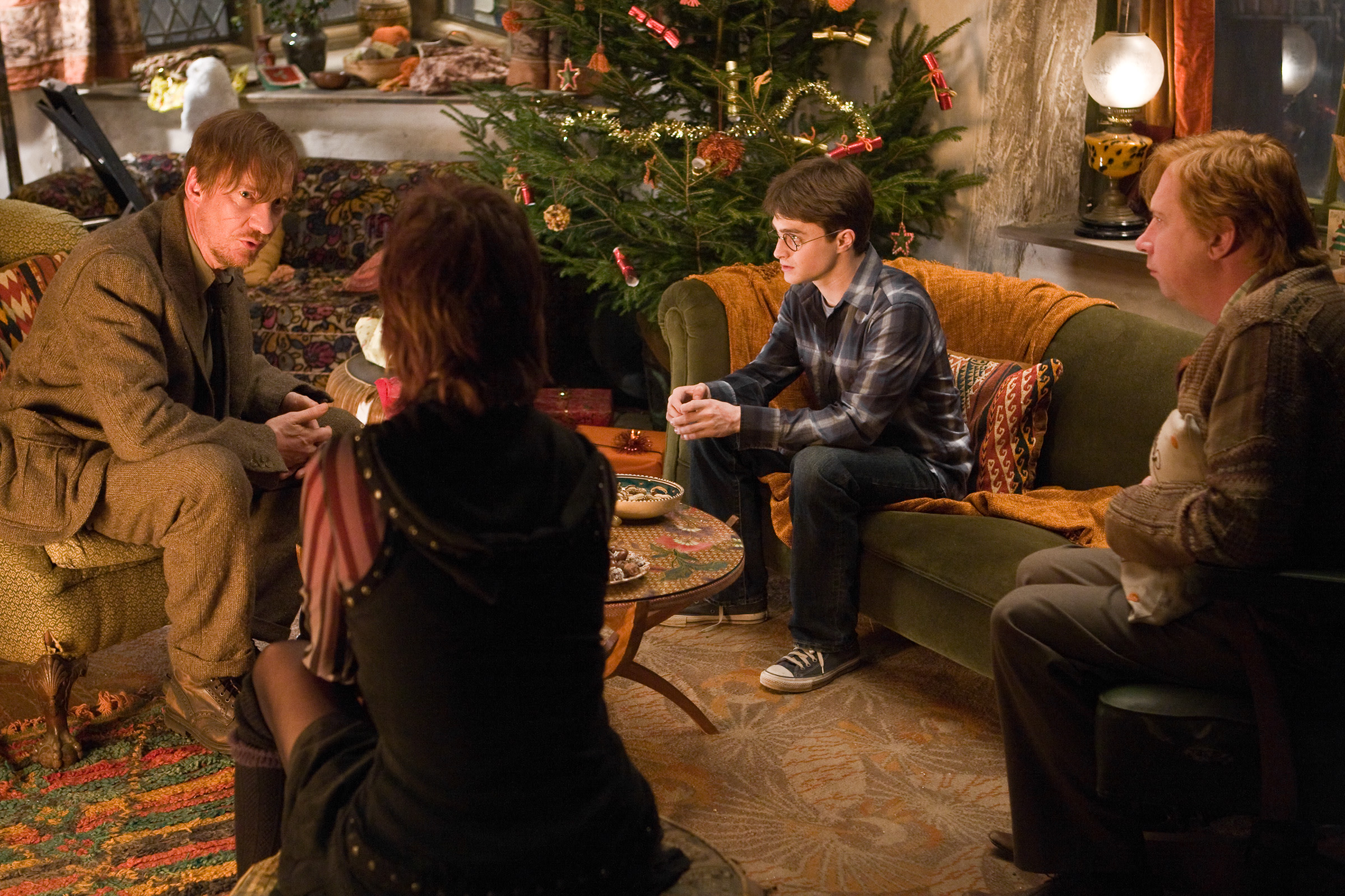 WB-HP-F6-half-blood-prince-christmas-lupin-tonks-harry-ron.
