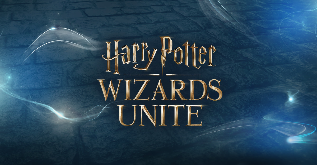 Portkey Games Harry Potter Wizards Unite title