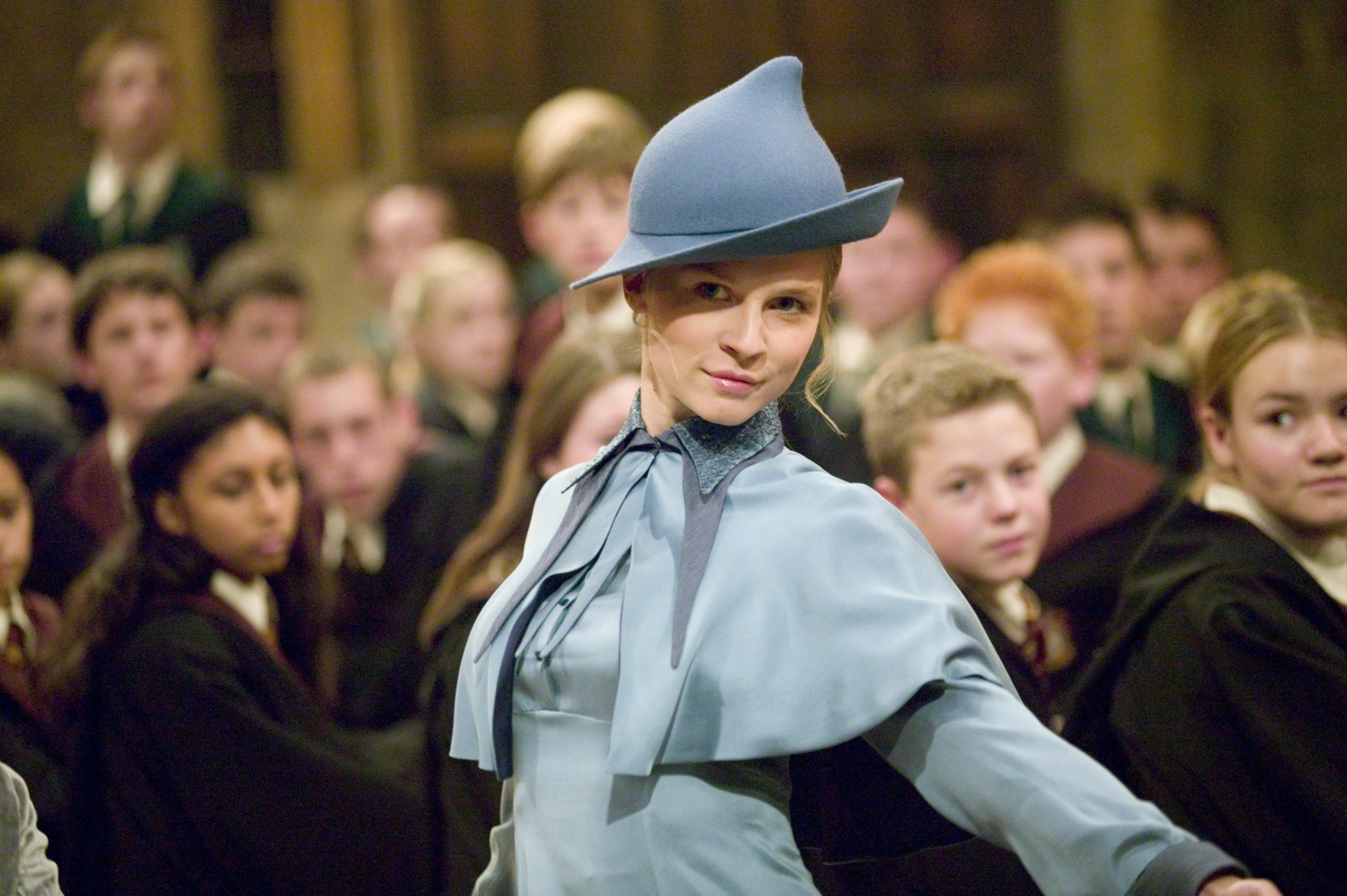 Every time Fleur Delacour showed us how to do life properly