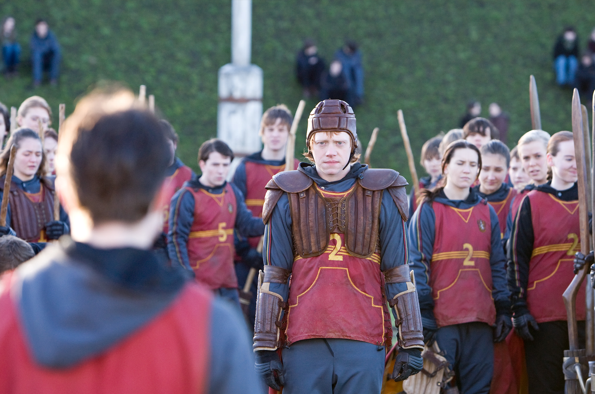 Ron Quidditch tryouts quidditch HP6