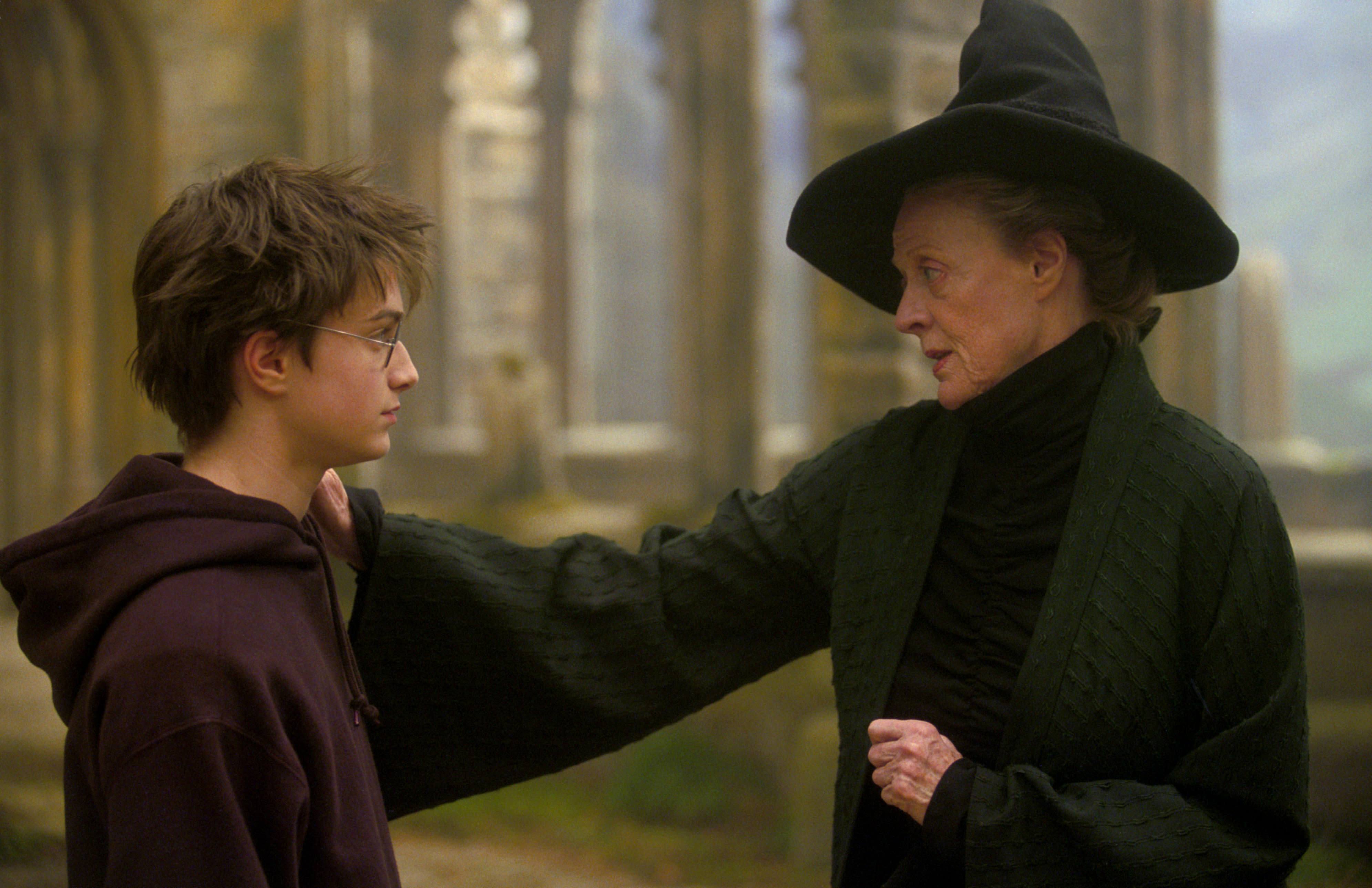Every time Professor McGonagall showed that she really cared | Wizarding  World