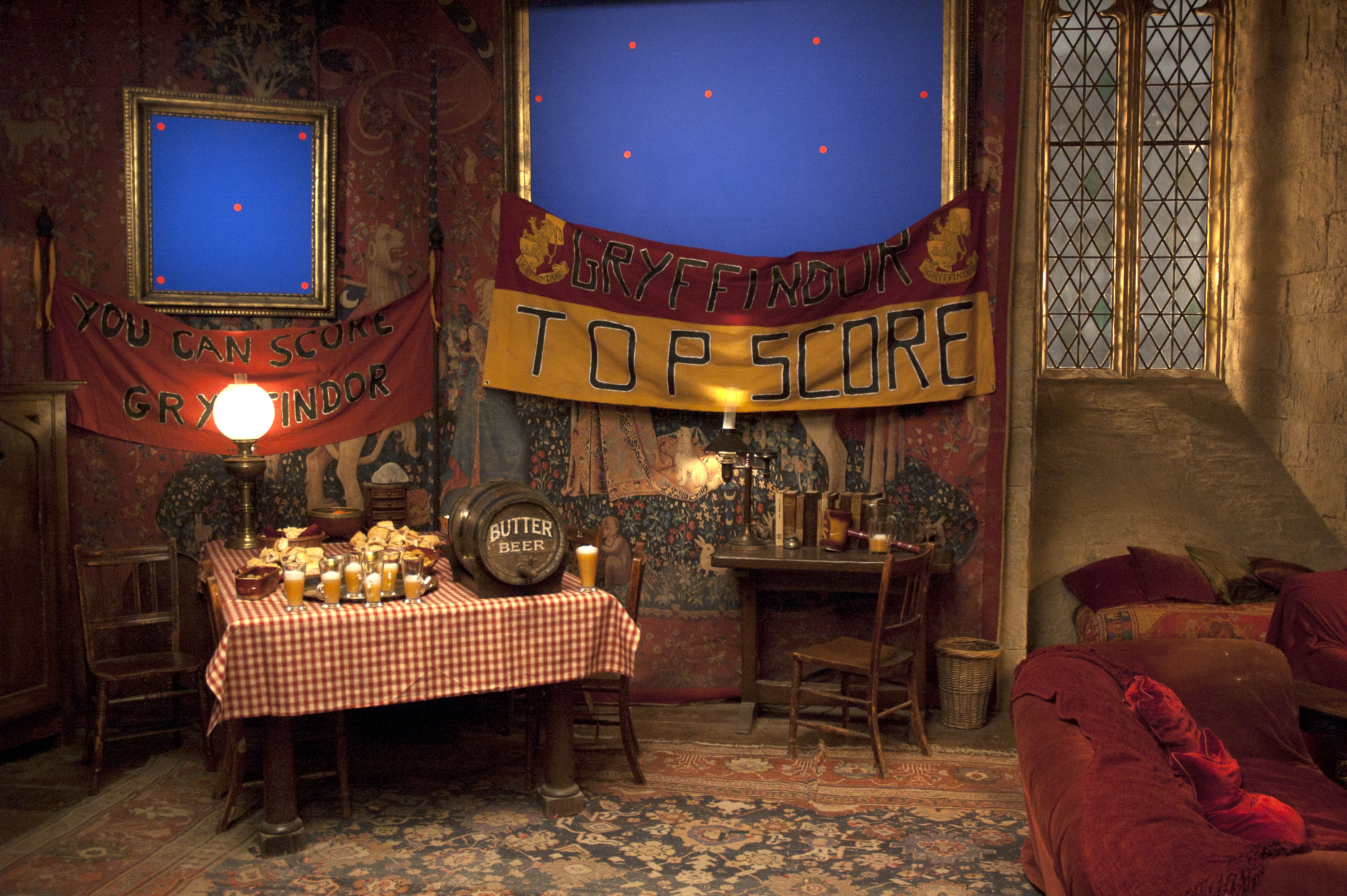 Behind The Scenes Creating The Gryffindor Common Room