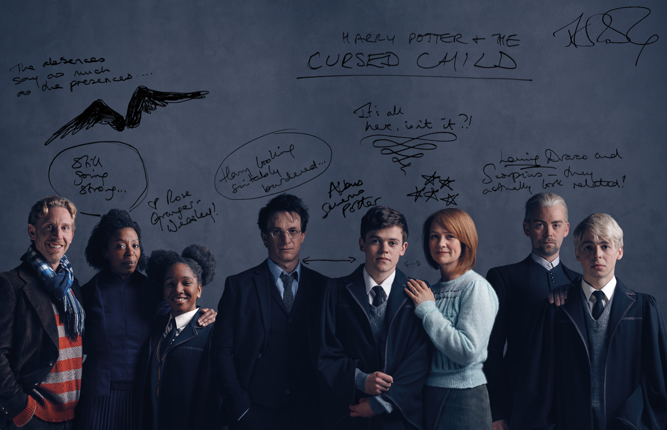 CC Cast JKR Writing image