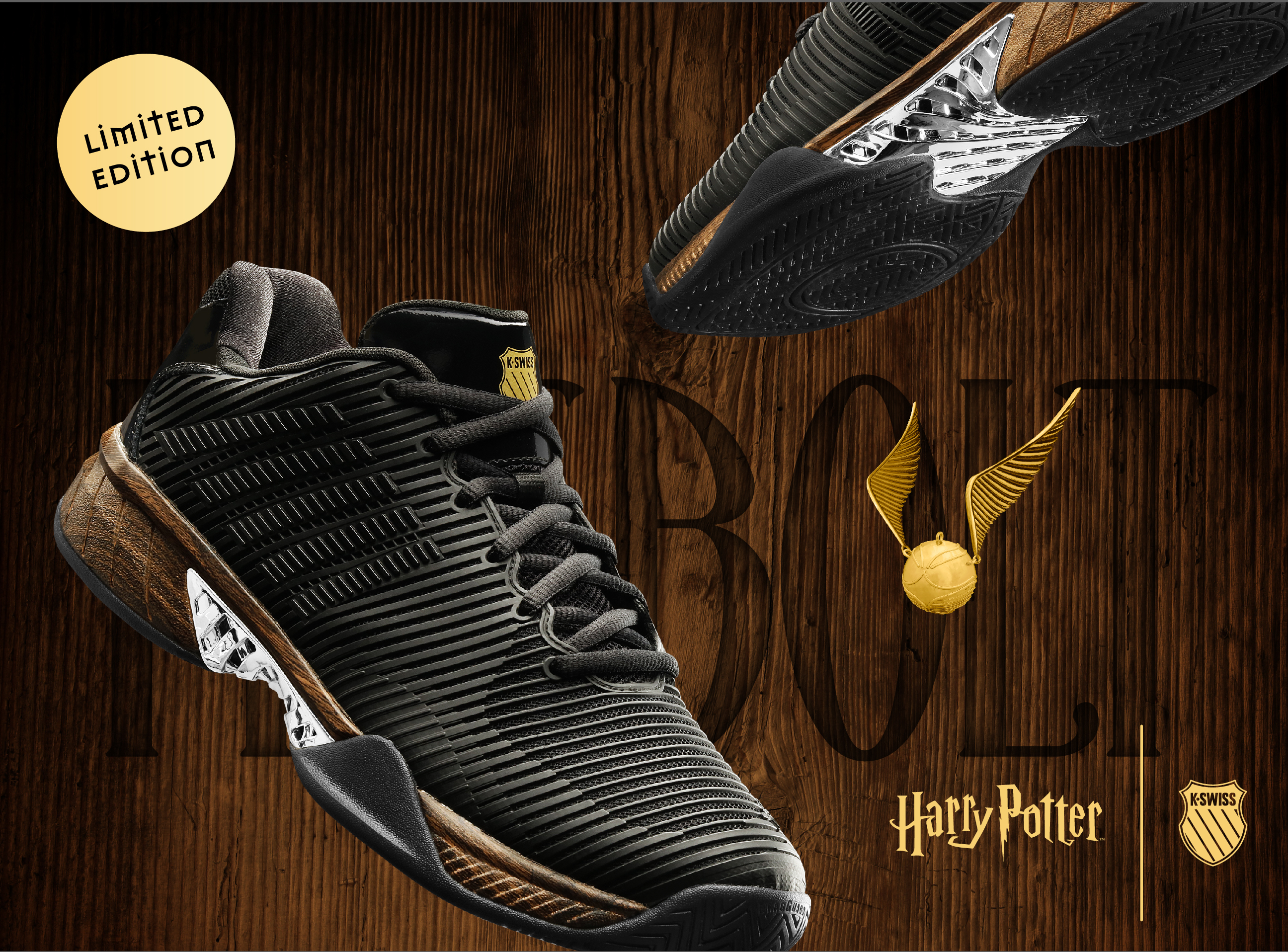 The new Harry Potter x K-Swiss shoes