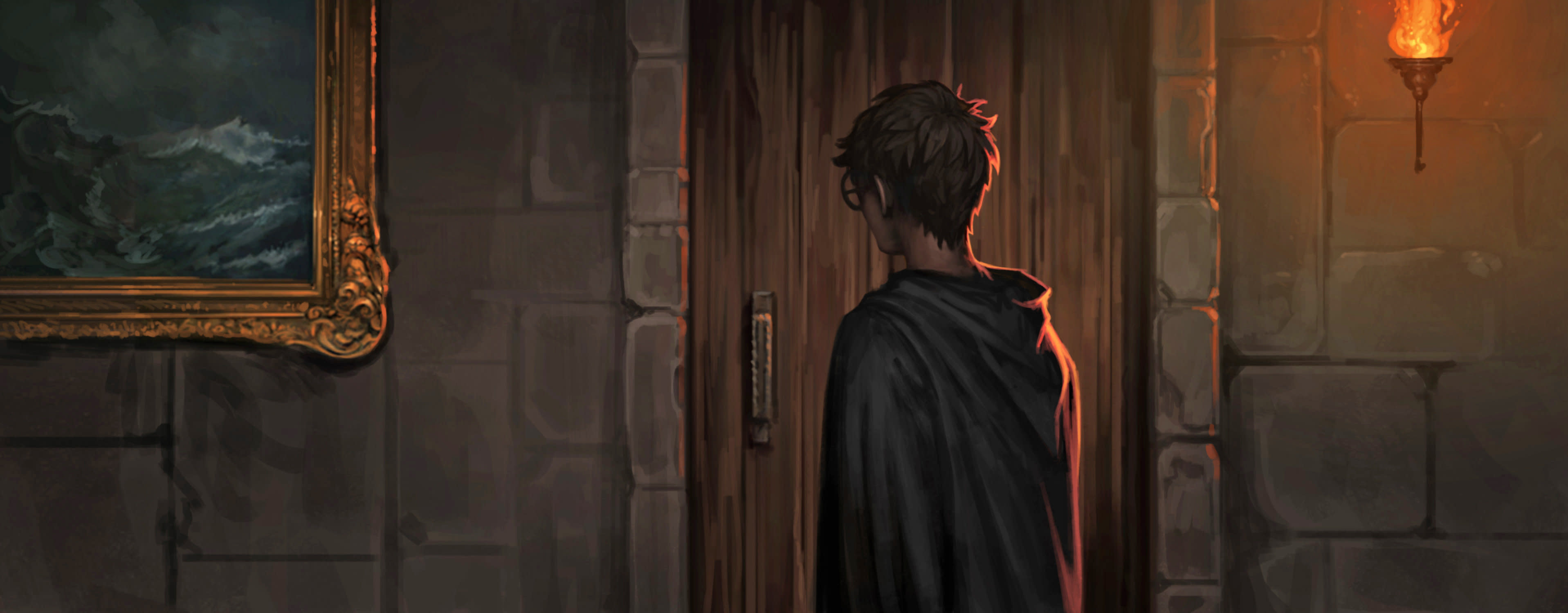 HarryPotter PM B5C13M1 HarryOutsideUmbridgesOffice Moment