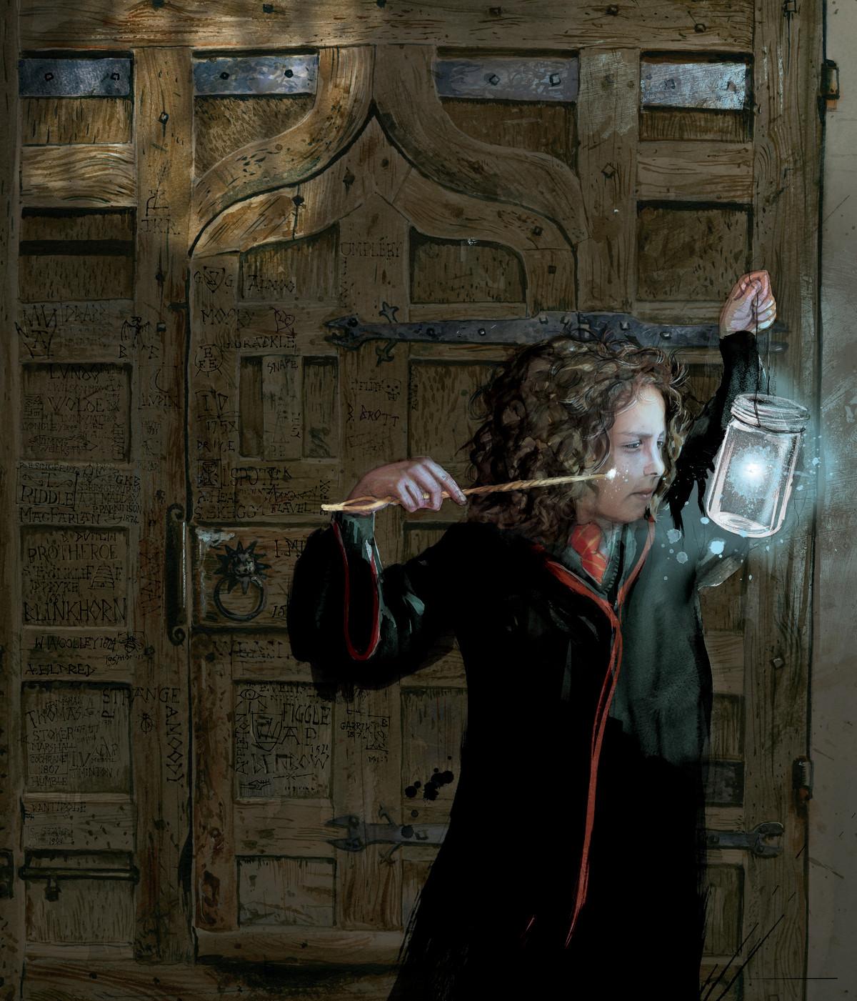 Artist Jim Kay on illustrating Harry Potter | Wizarding World