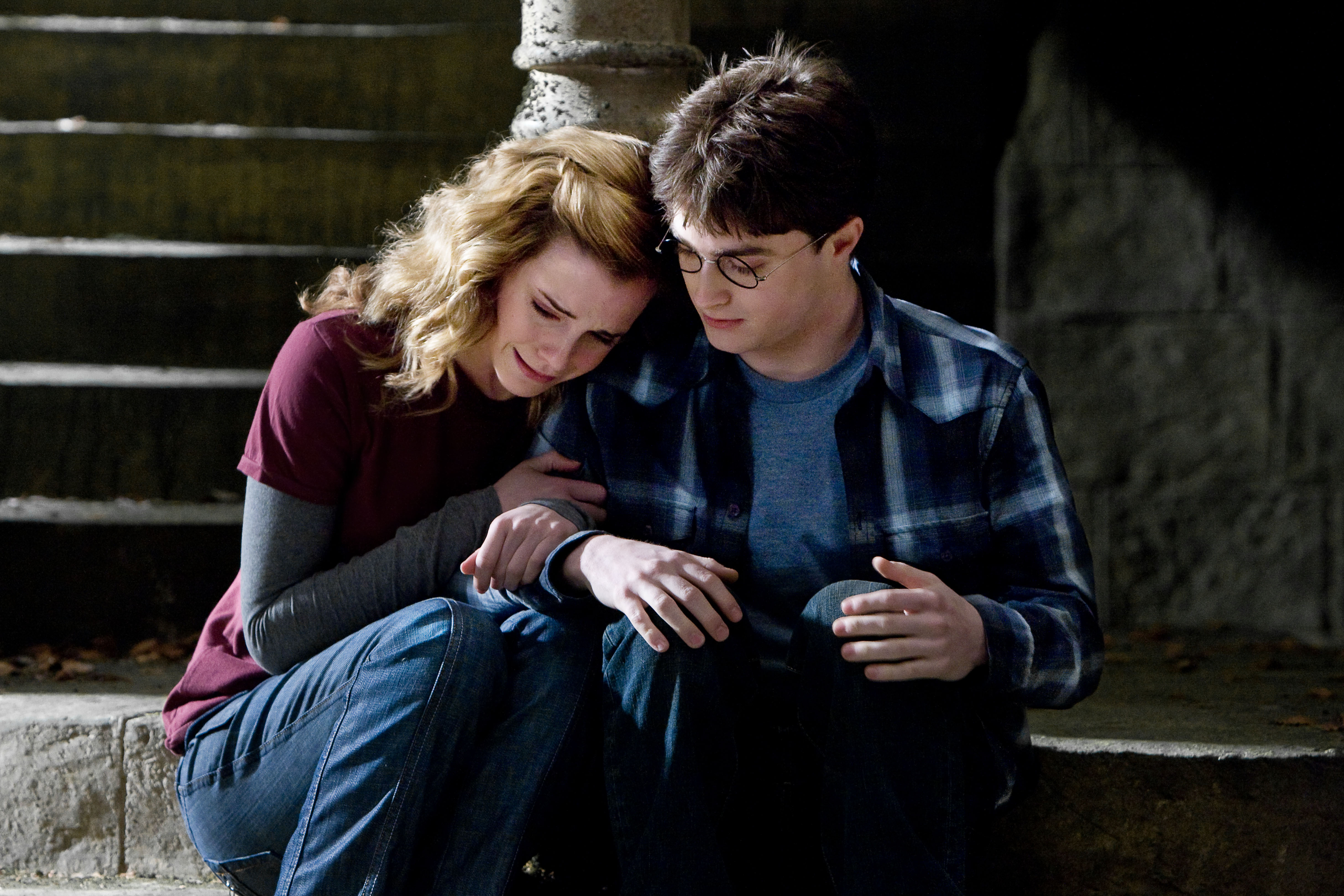 Hermione granger og Ron Weasley dating