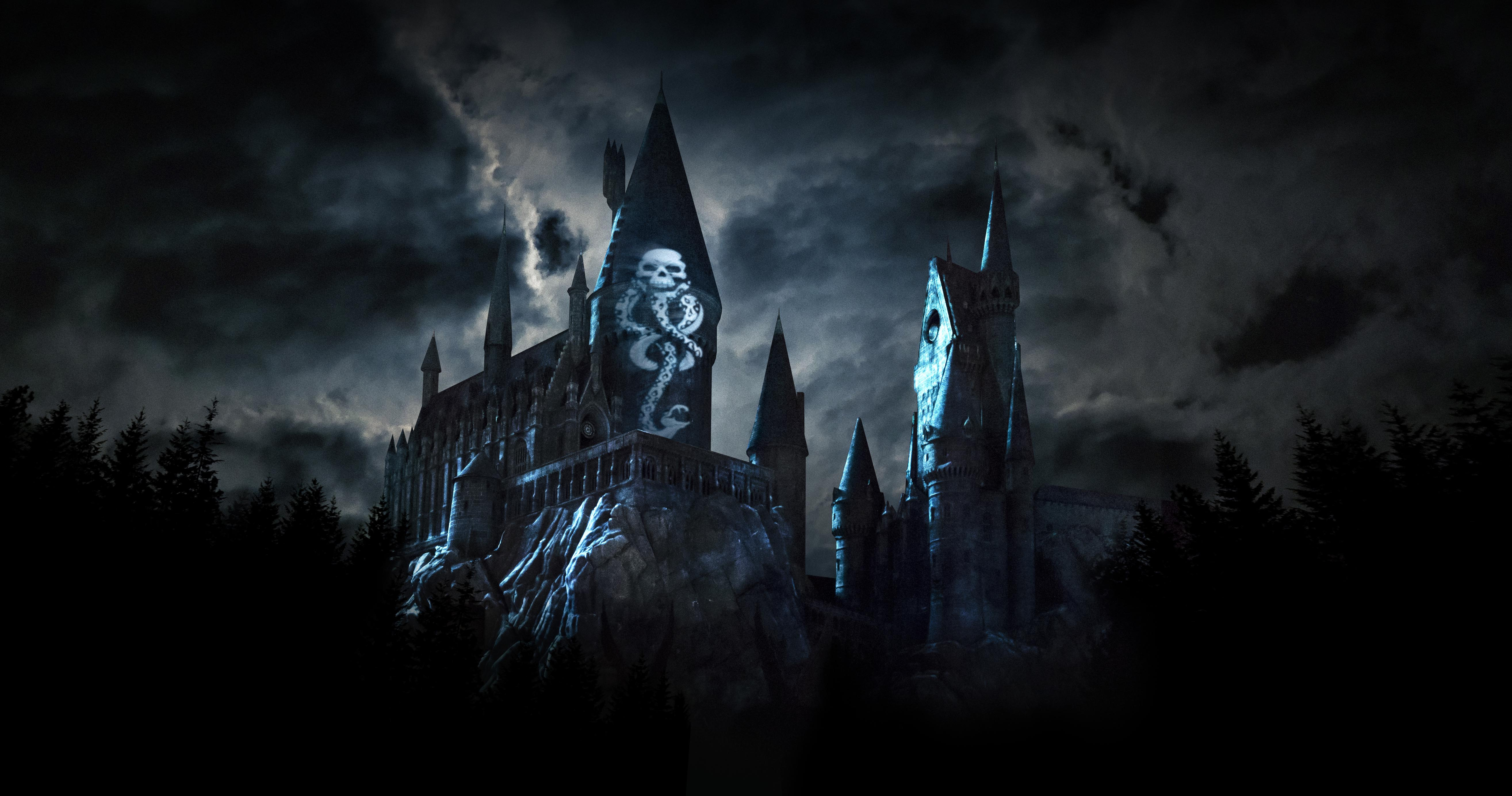 Universal Studios Dark Arts projection experience