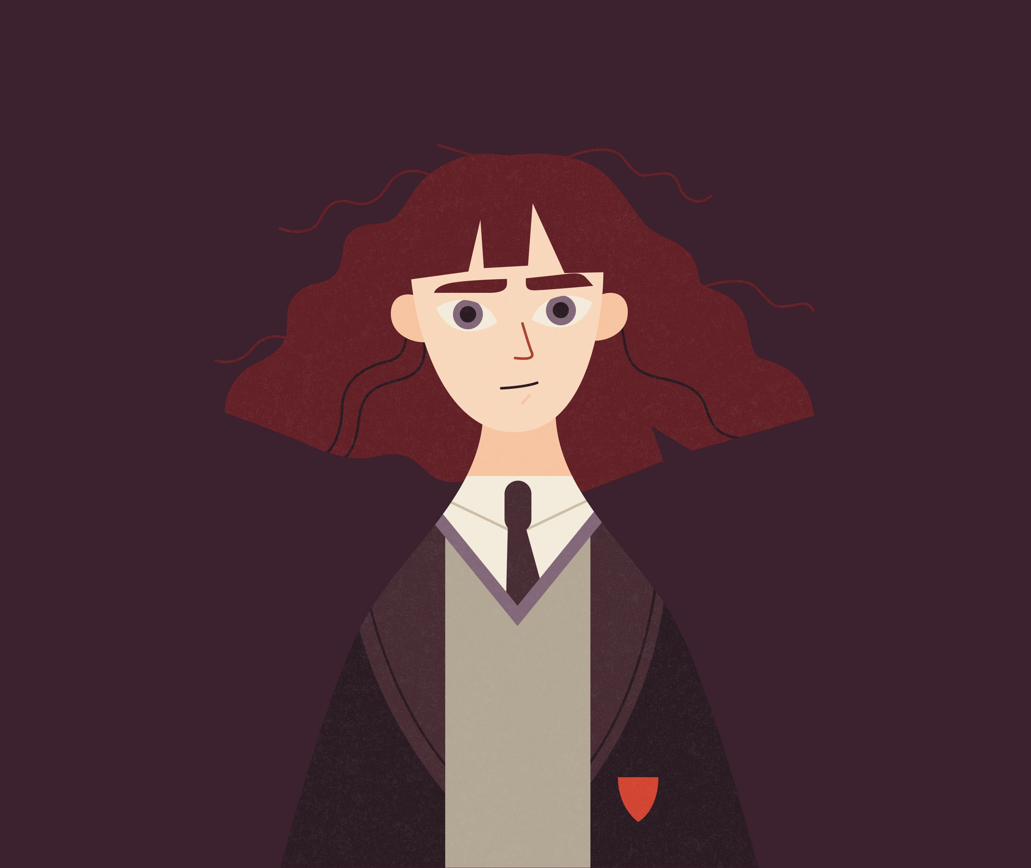 PM Hermione Granger illustration DA infographic
