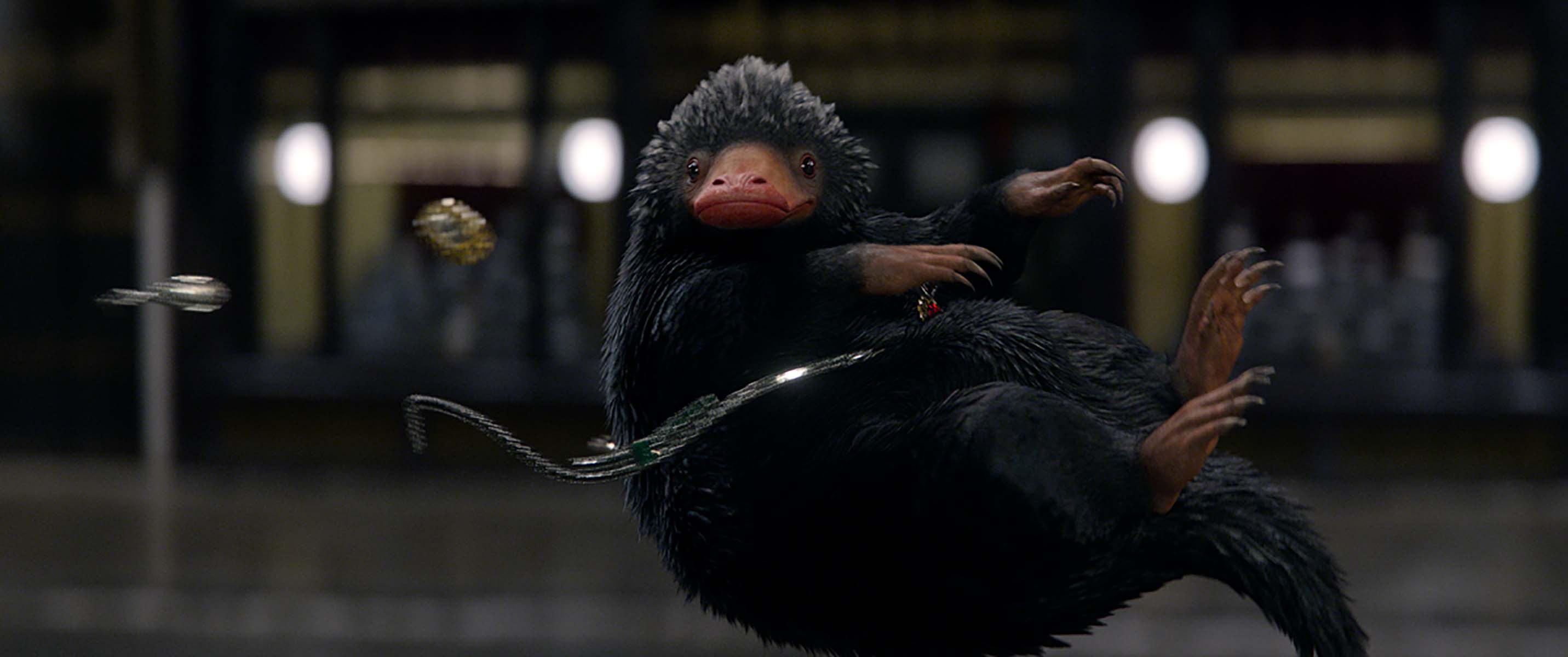 WB FB Niffler in mid air jewellery