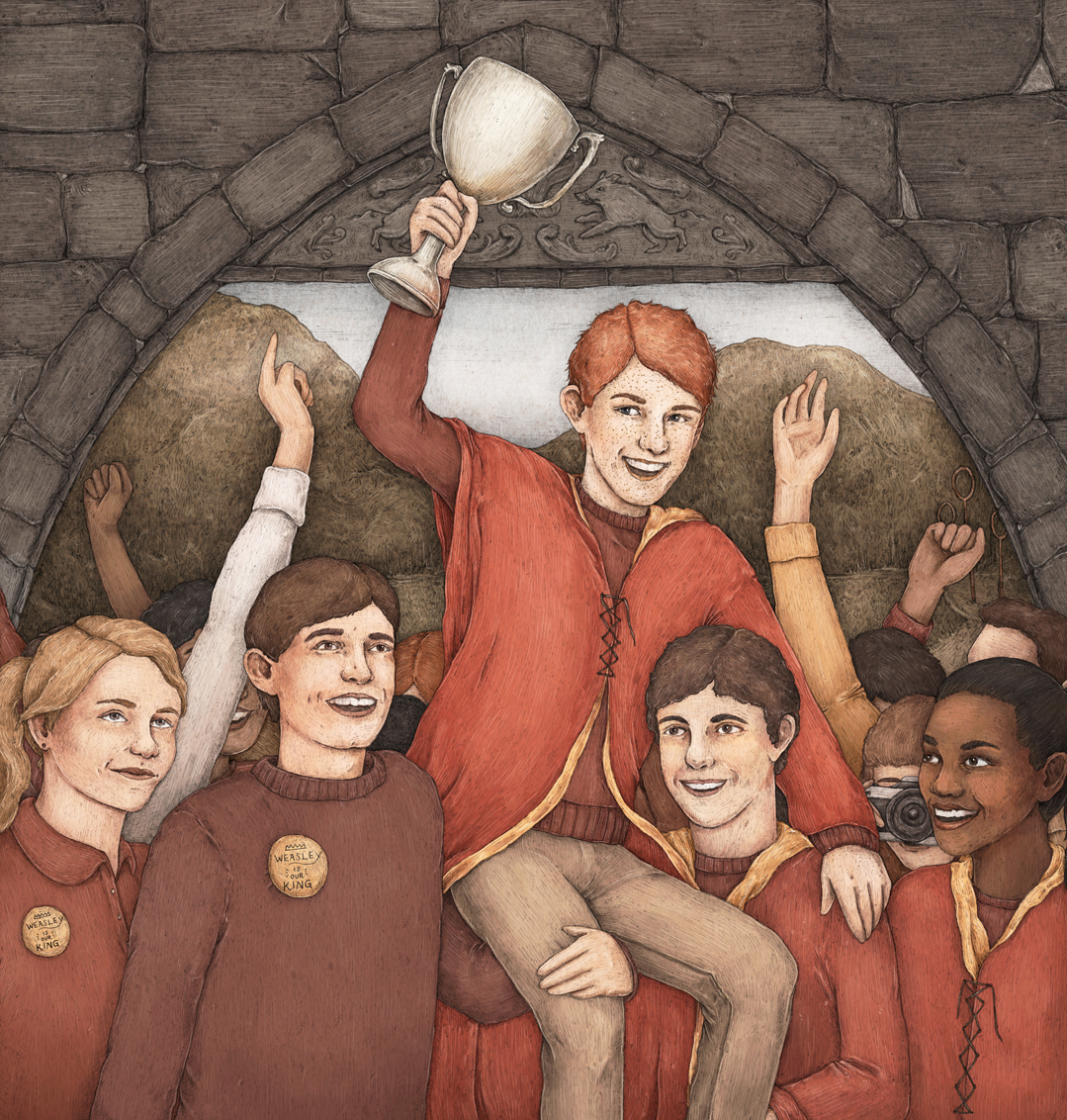 PM illustration Ron Weasley Jessica Roux