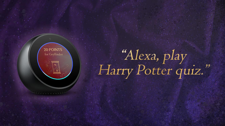 Play The New Harry Potter Quiz On Amazon Alexa Wizarding World