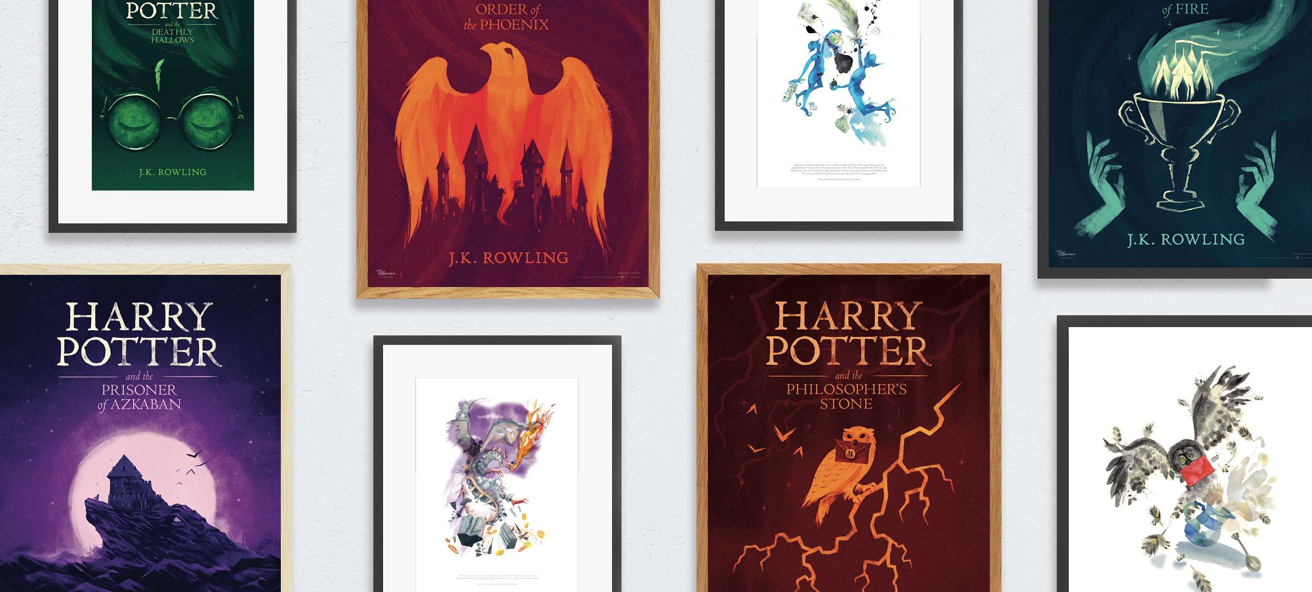 Pottermore Art Collection hero