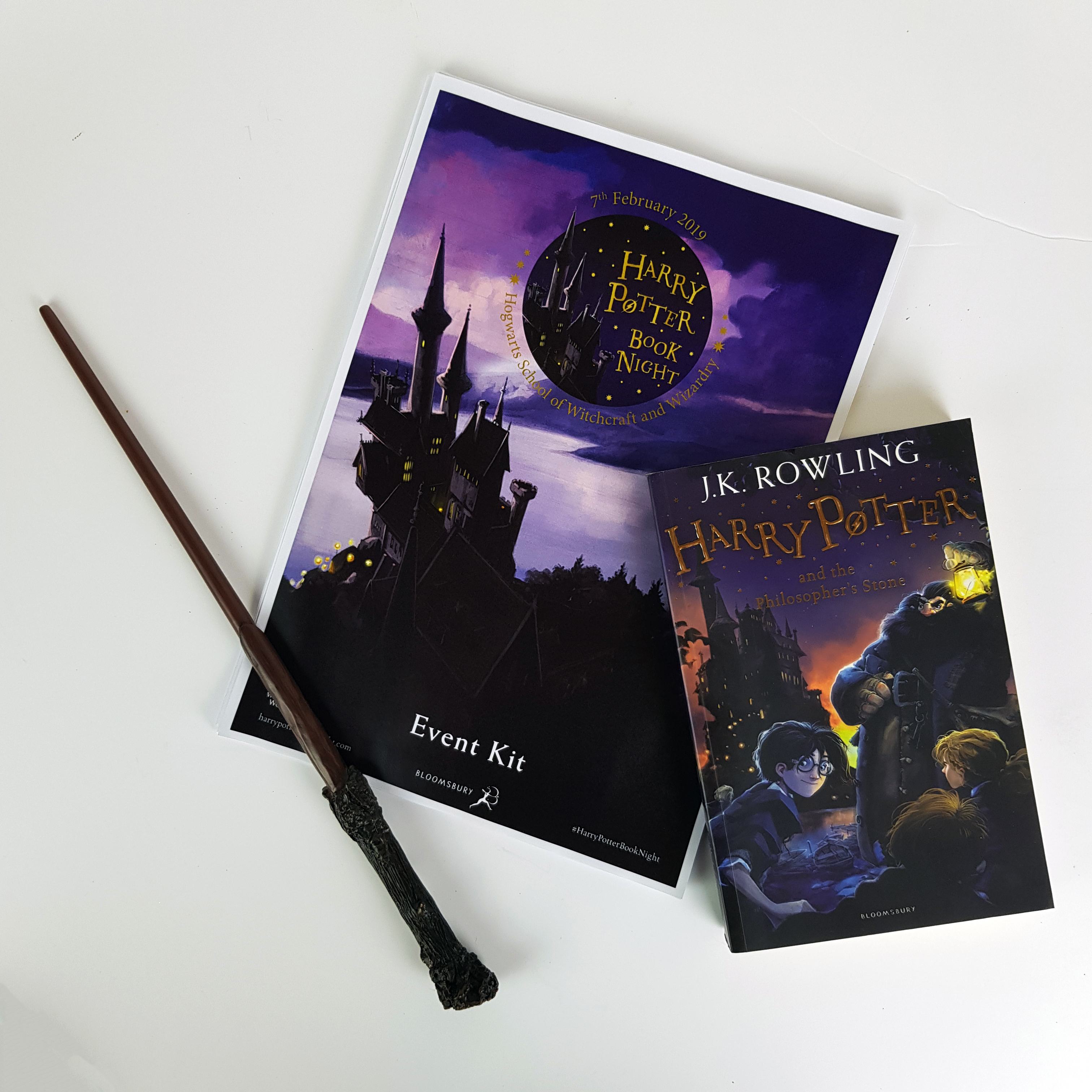 Harry Potter Book Night Kit with wand