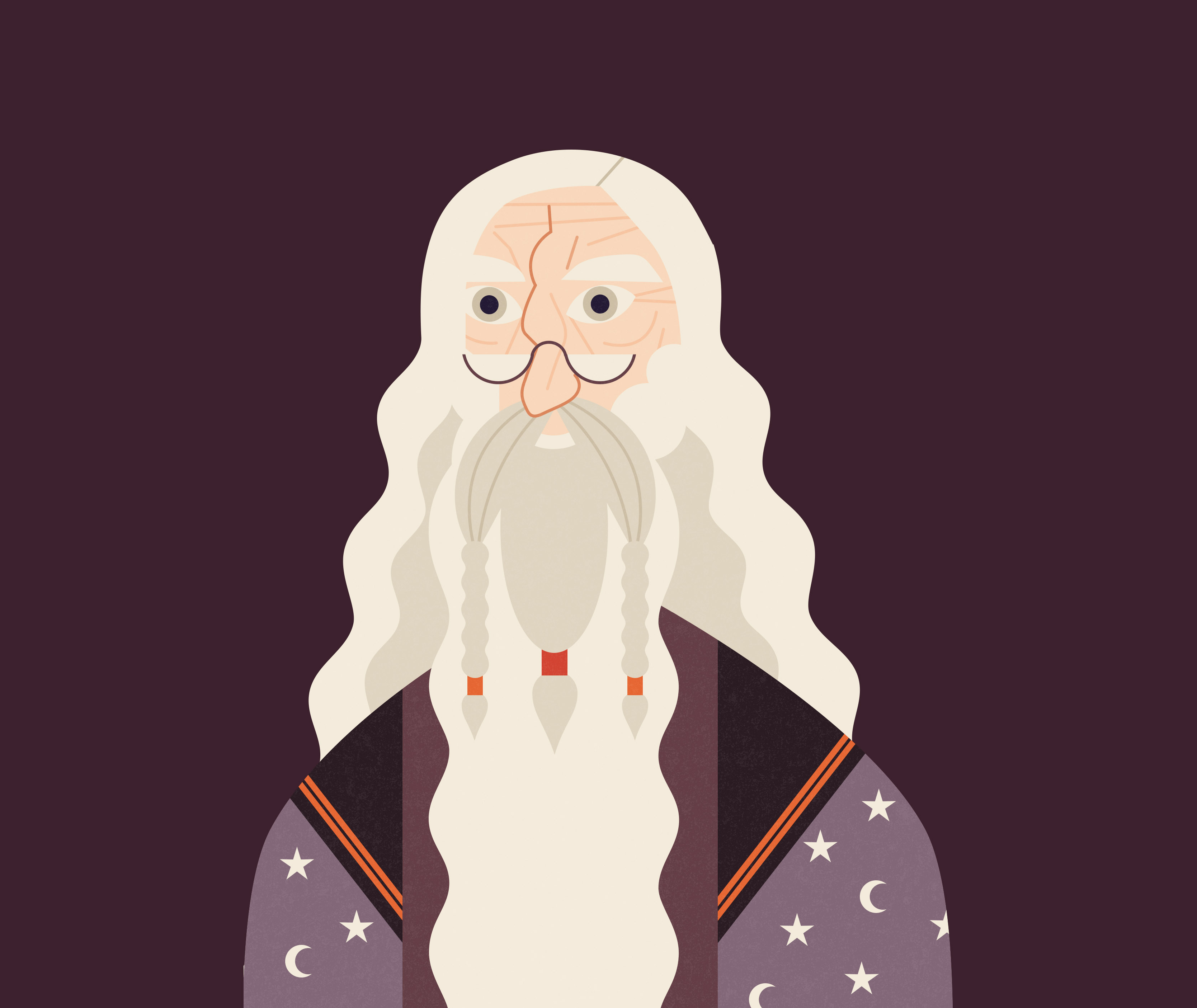 PM Albus Dumbledore illustration OOTP2 infographic