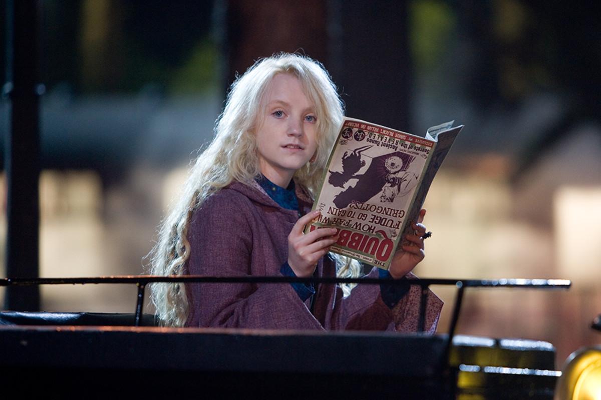 Luna Lovegood's eight wackiest moments | Wizarding World