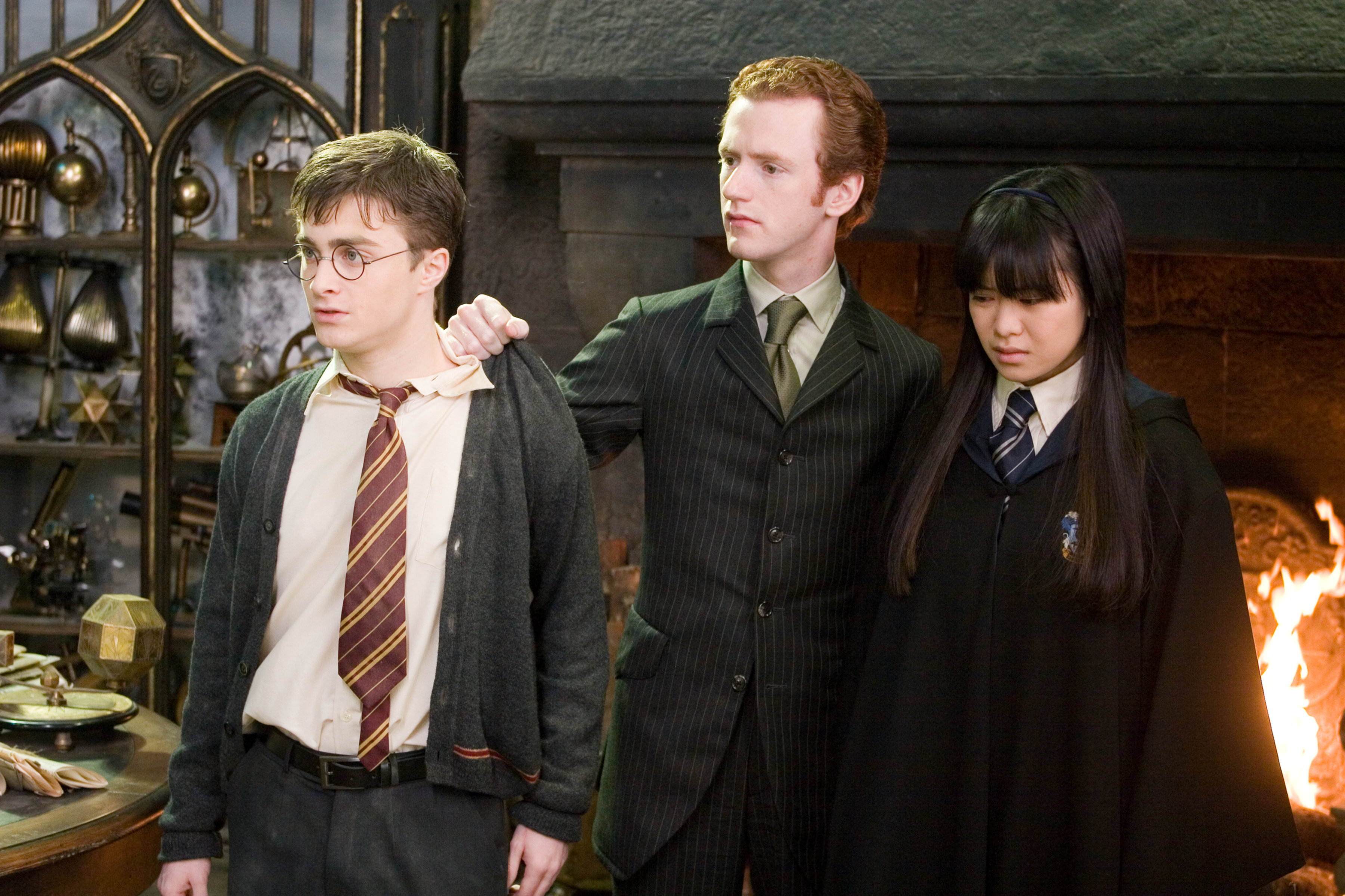Rather than Fred, it should have been Percy Weasley who should have died in the deathly hollows for being such a brat.