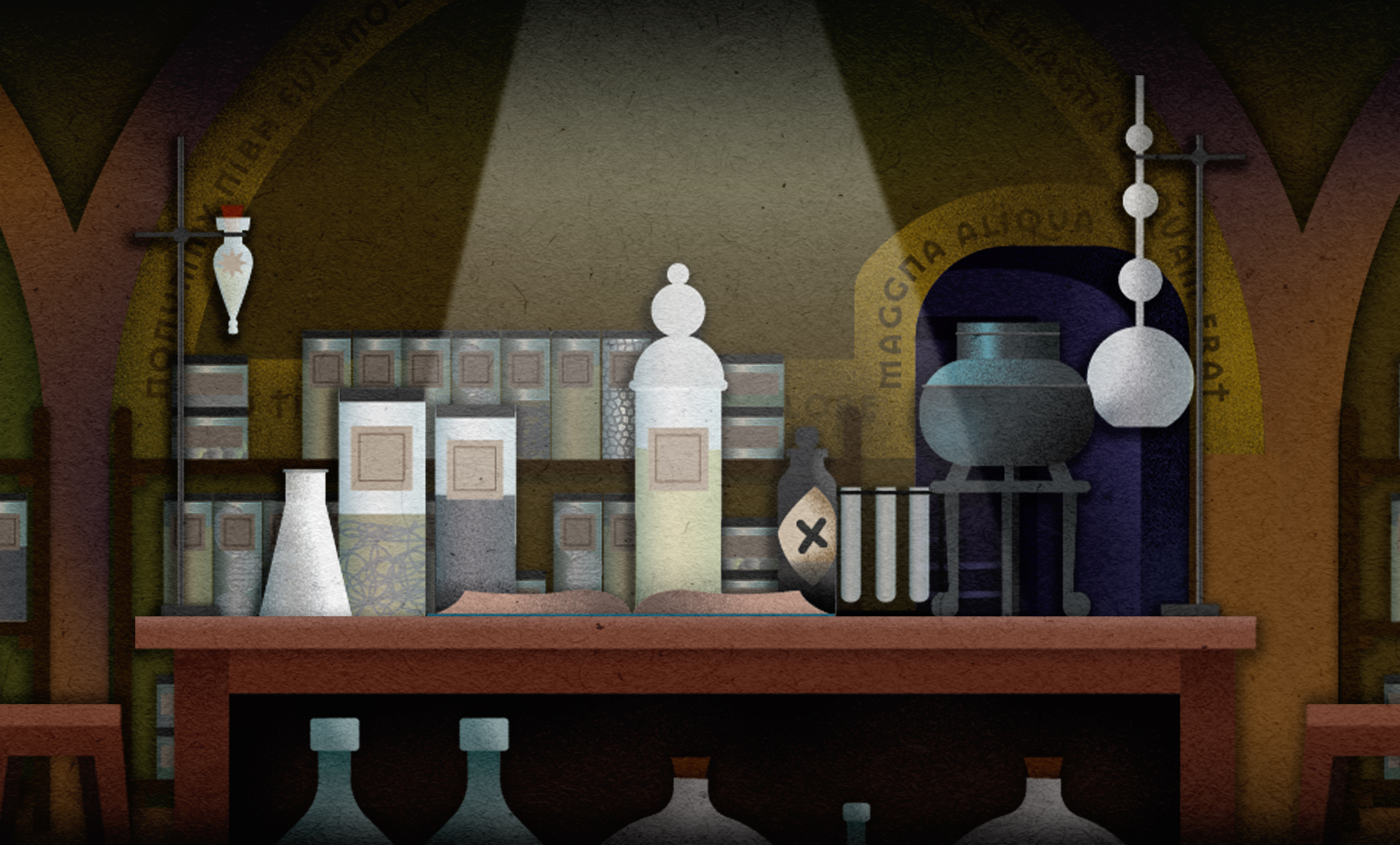 Play our wizarding world puzzles