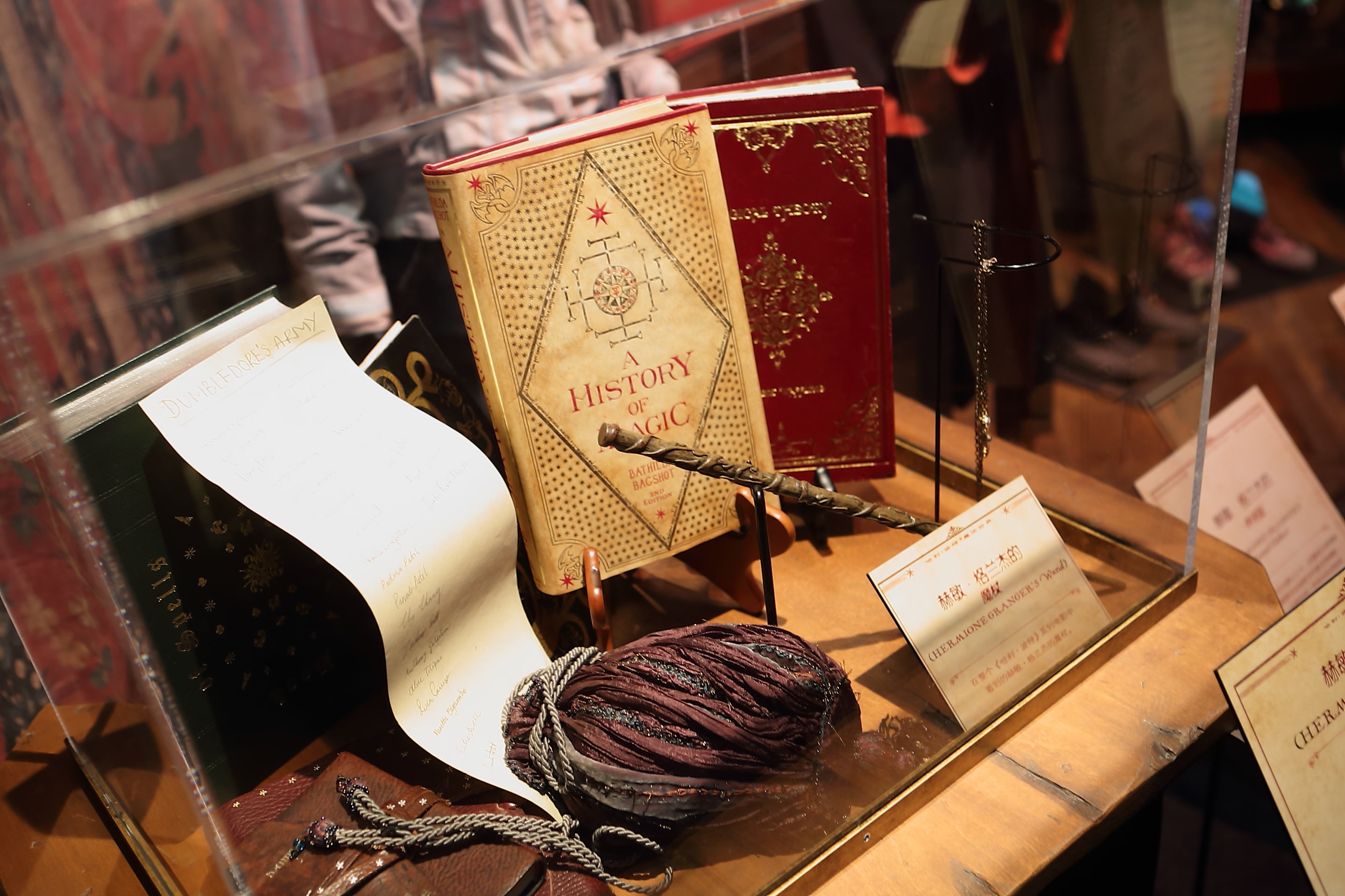 HP exhibition History of Magic book