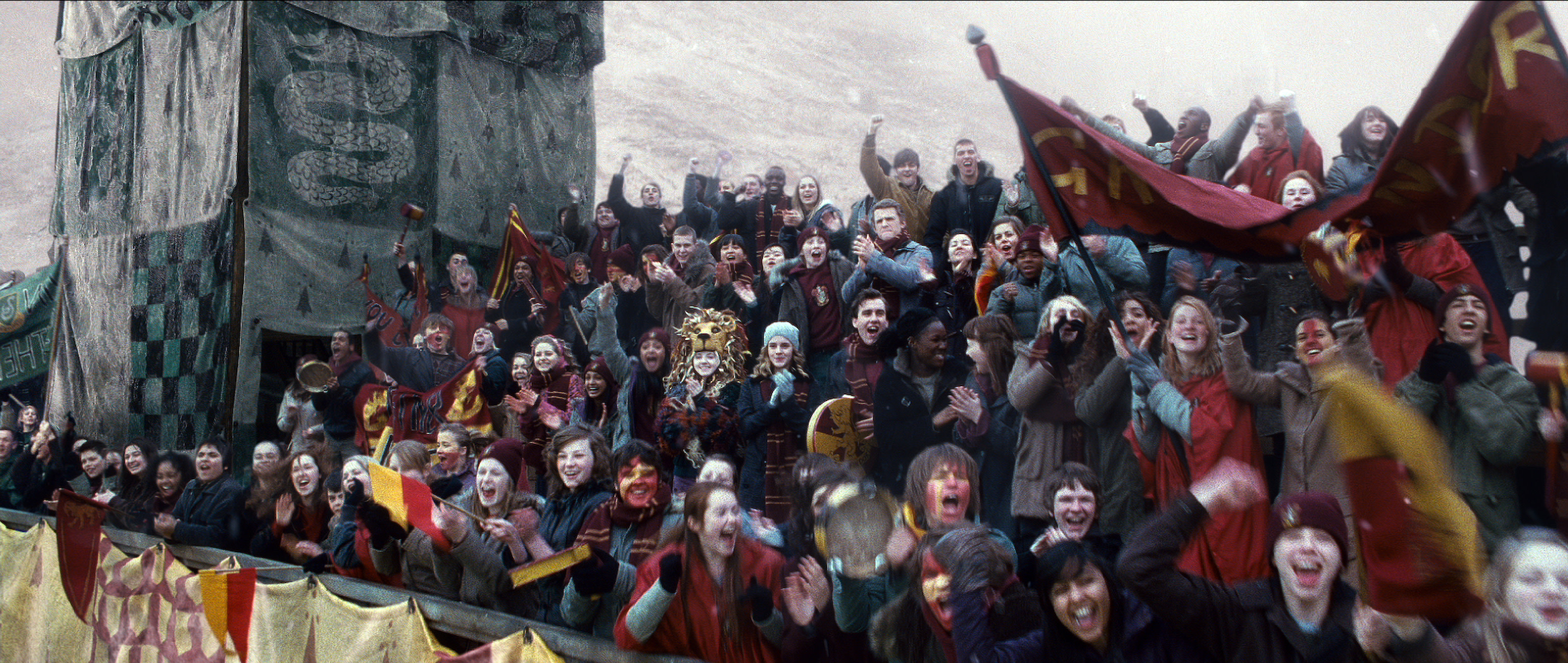 Quidditch crowd stands image