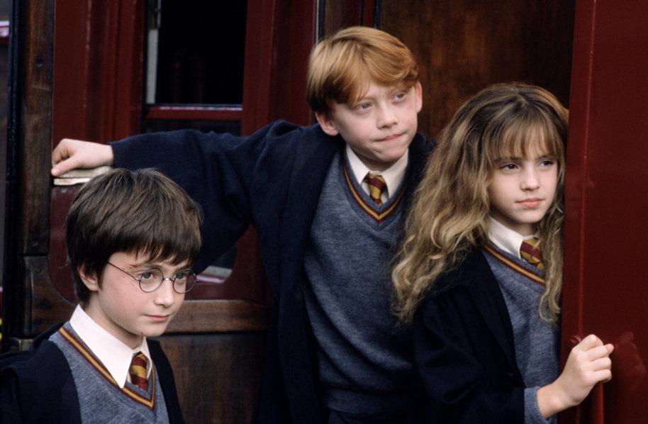 Imagini pentru harry potter hermione and ron