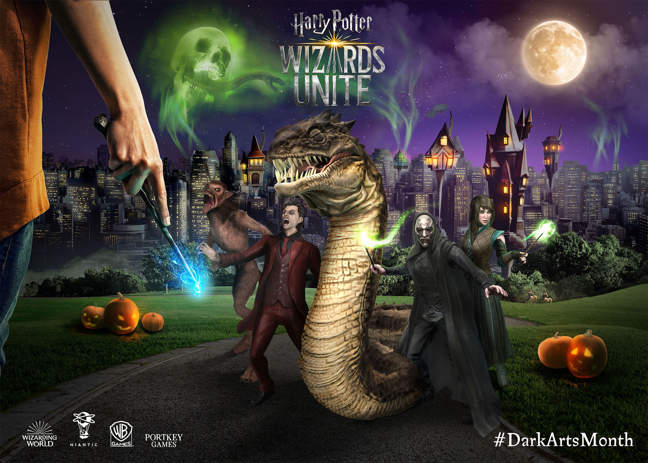 This October, Dark forces descend on Harry Potter: Wizards Unite ...