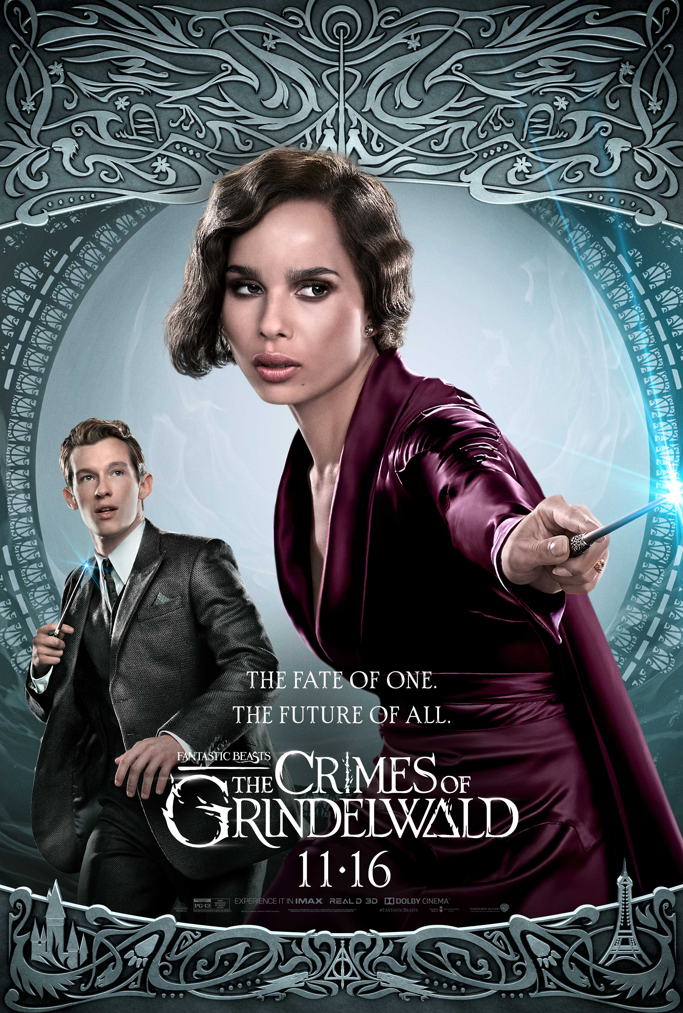 W127 Fantastic Beasts 2018 Comic The Crimes of Grindelwald Poster Silk Wall Art