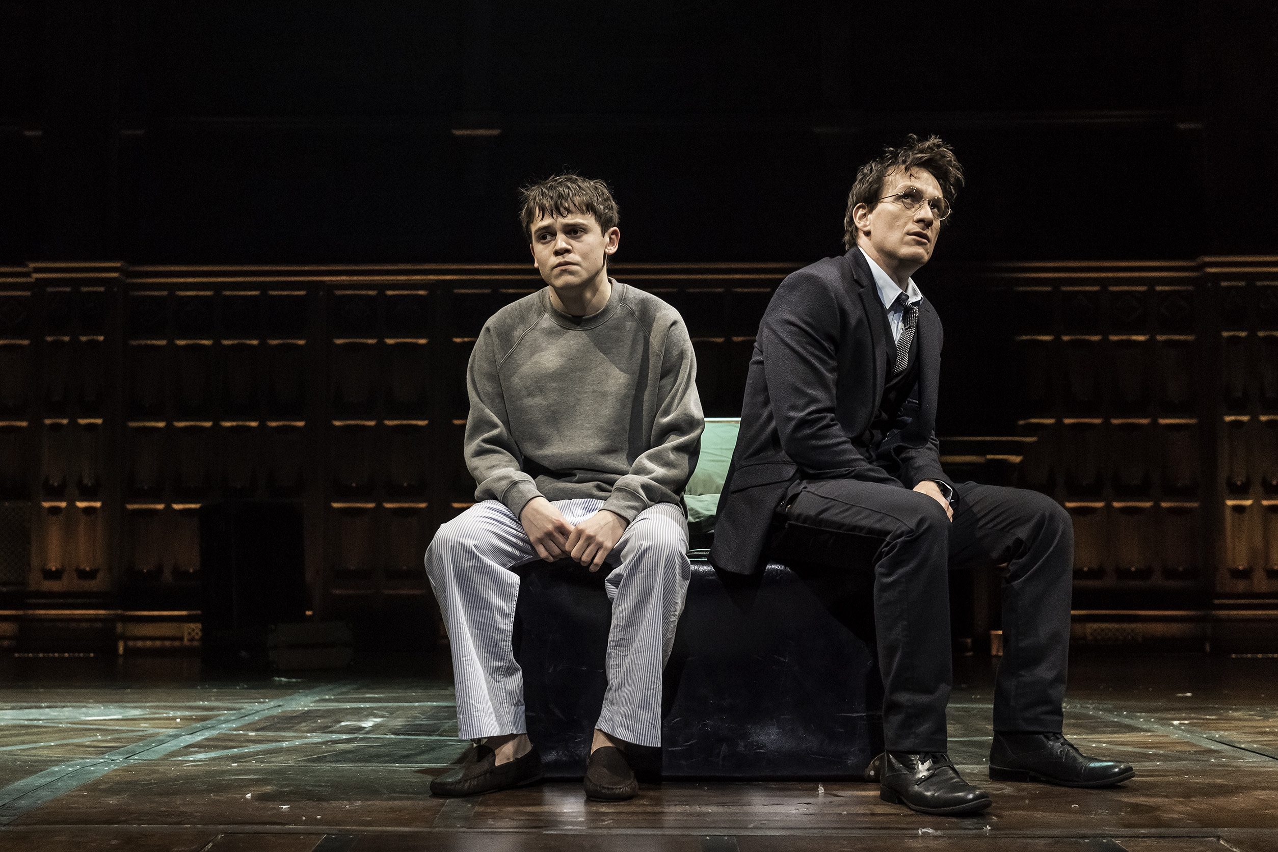 Harry and Albus original cast - Harry Potter and the Cursed Child