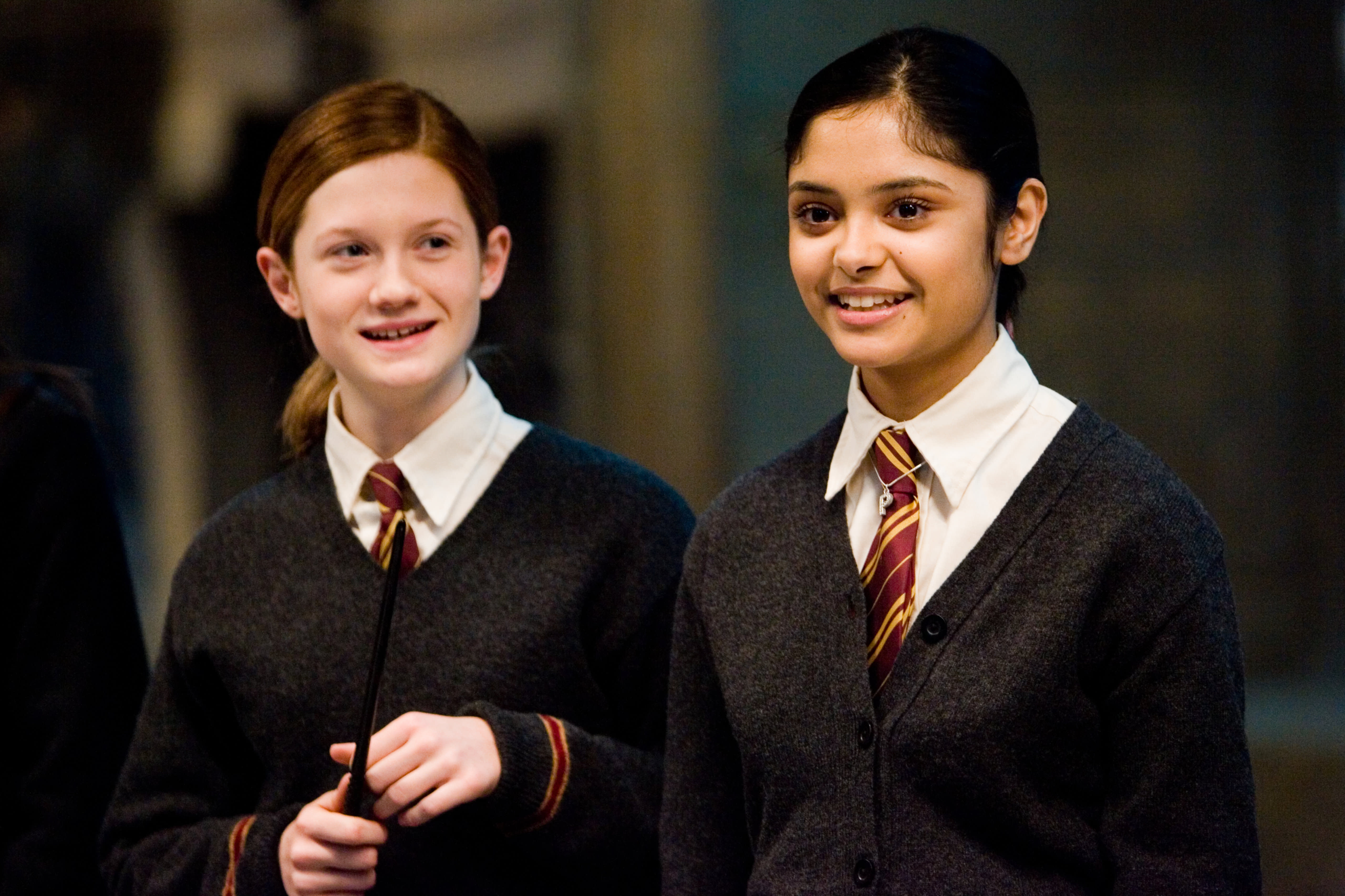WB F5 Ginny Weasley Padma Patil in Dumbledores Army HP5D-3254