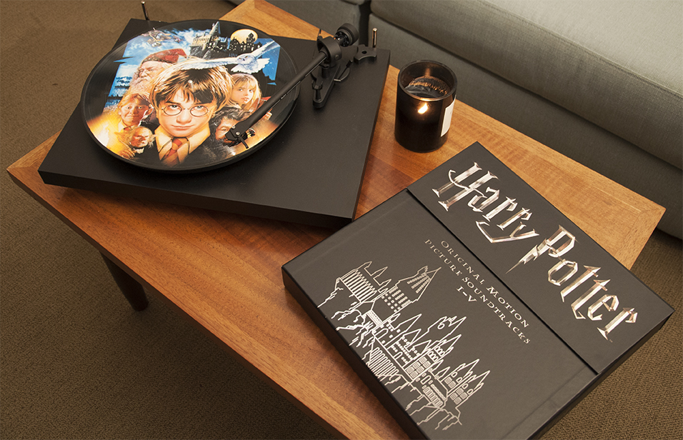 WB HP Harry Potter soundtracks on vinyl