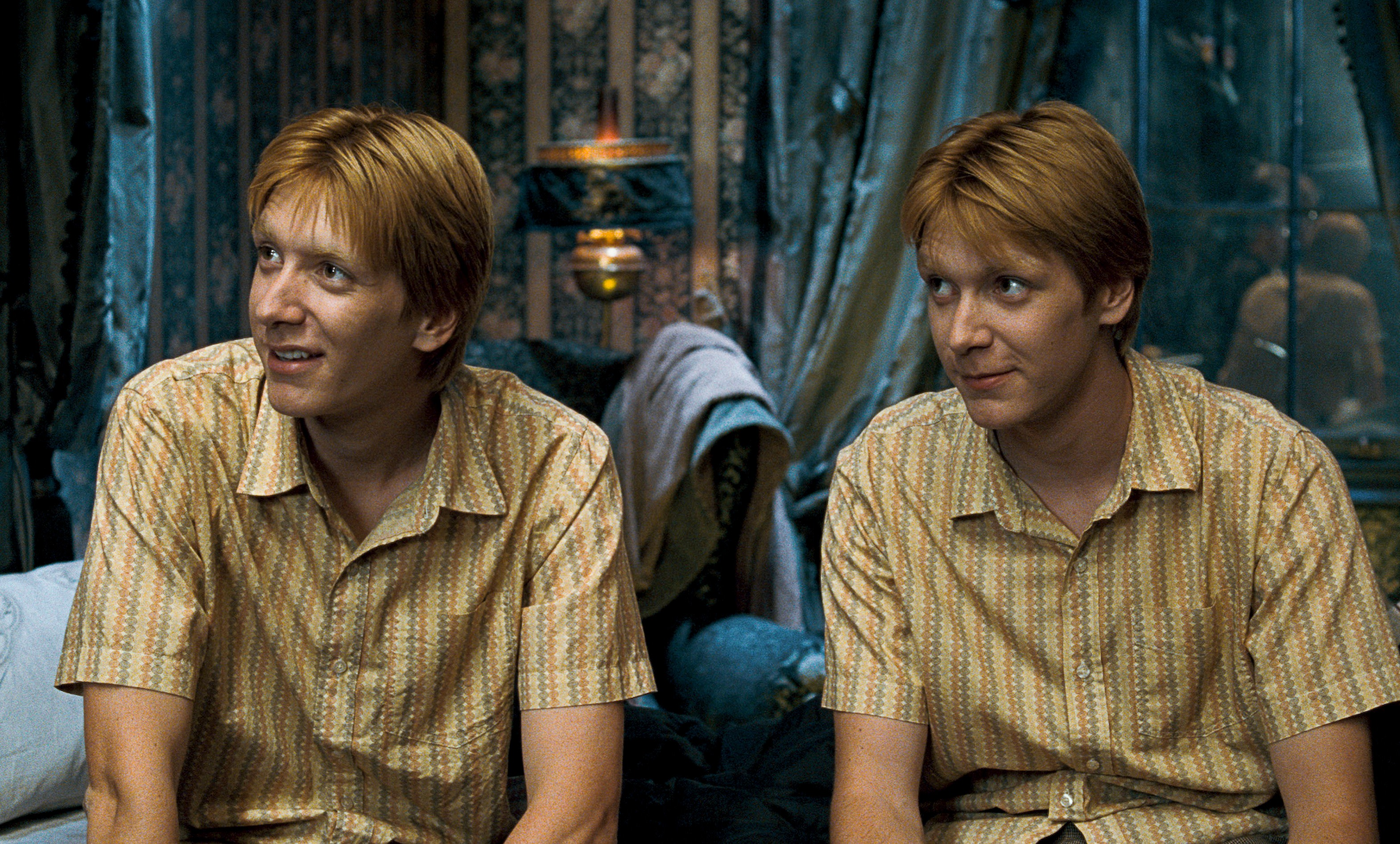 Image result for fred and george weasley