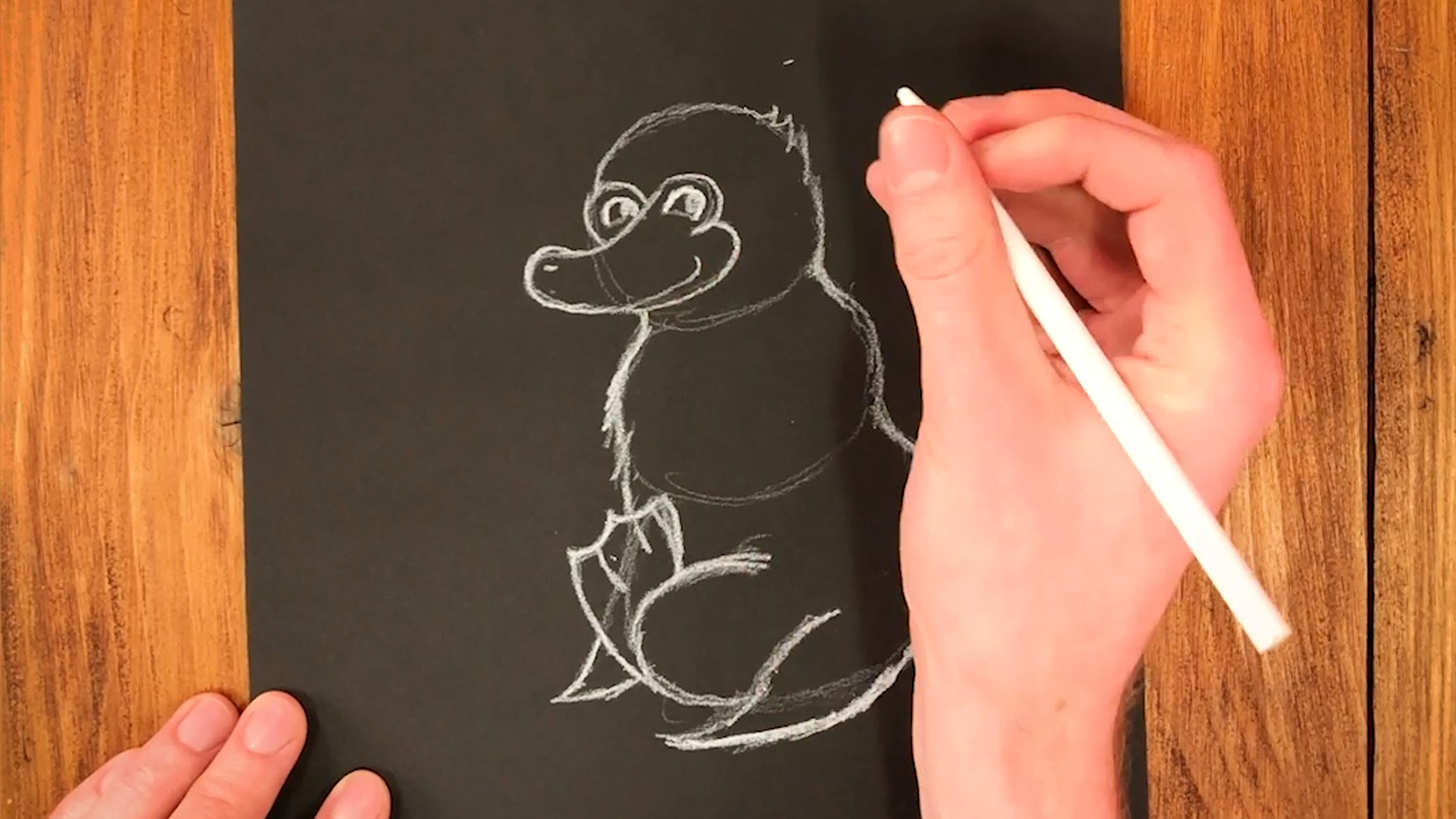 draw-a-niffler-craft-image-with-pencil