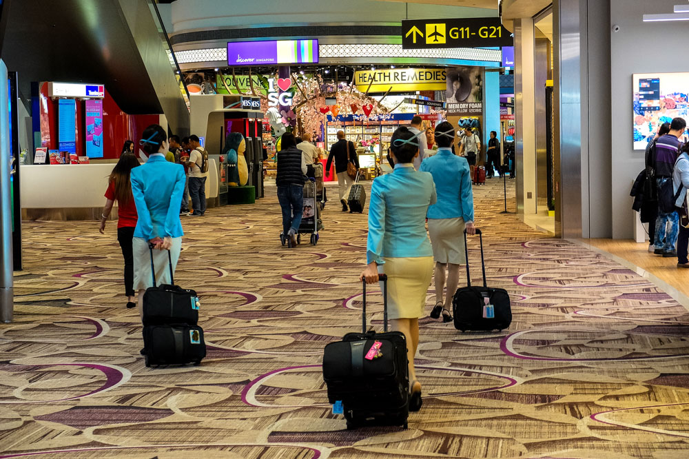 Singapore Changi airport - One of the world's best airports