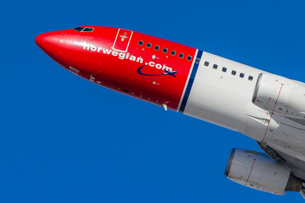 Norwegian aircraft - Norwegian flight delay compensation