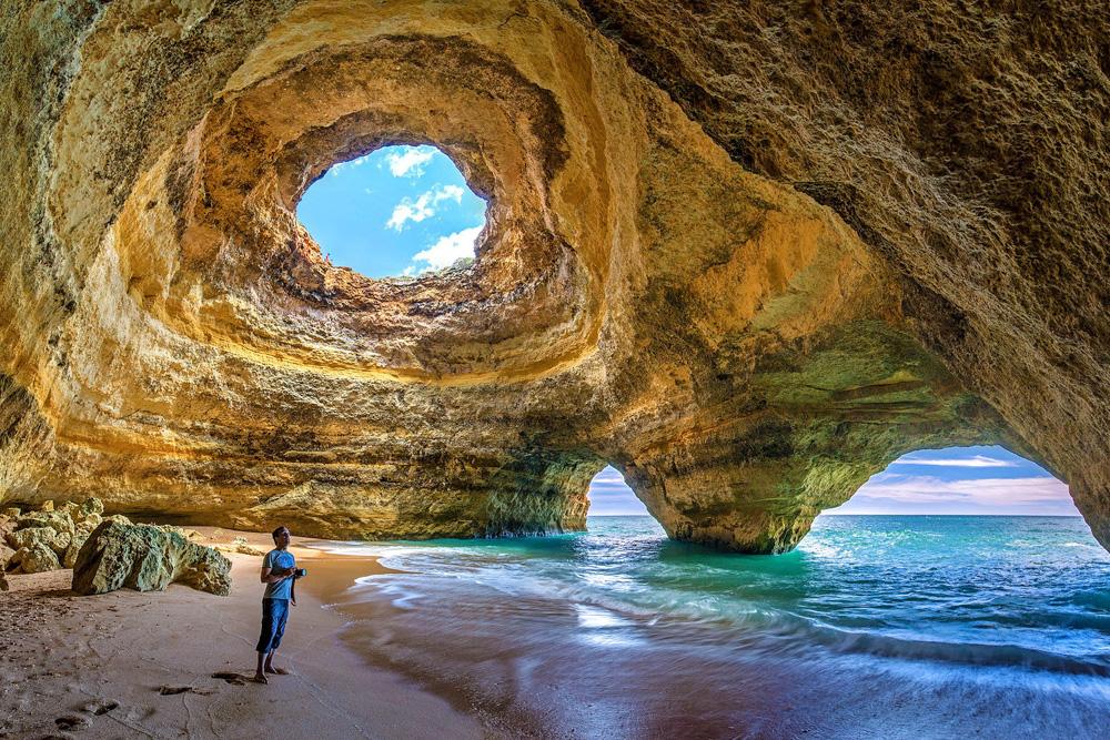 Benagil Cave in Algarve