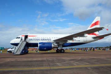 An airplane at the airport - British Airways flight delay compensation