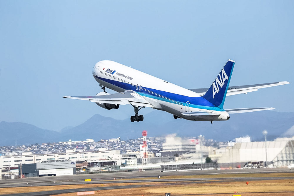 ANA All Nippon Airways airplane