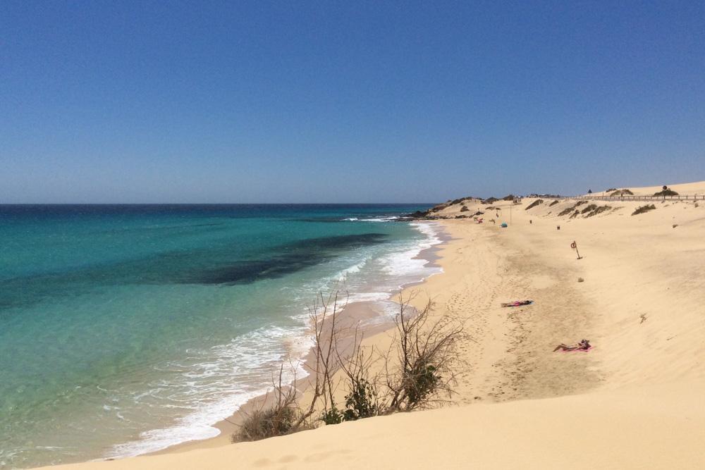 Grandes Playas in Corralejo - Fuerteventura, Canary Islands
