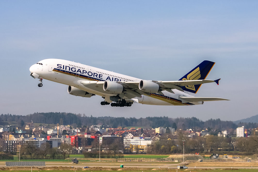 Singapore Airlines airplane