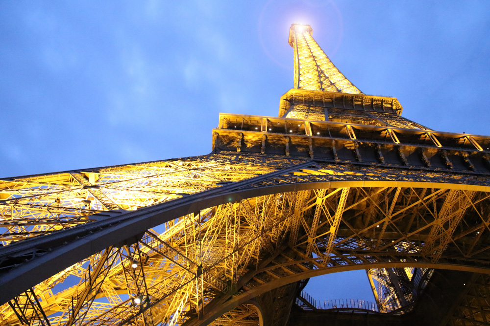 Eiffel tower in Paris - One of the best places for New Years Eve in Europe