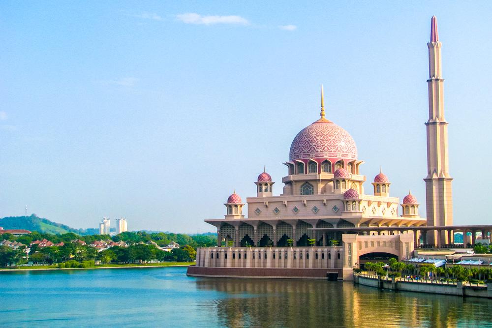 A mosque in Putrajaya, Malaysia