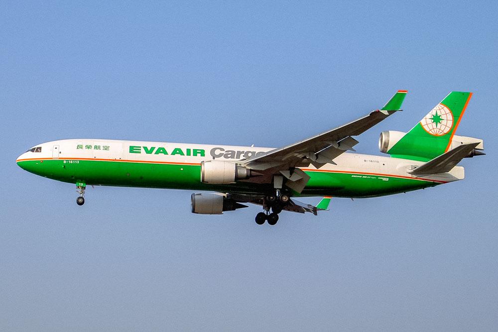 EVA Air airplane
