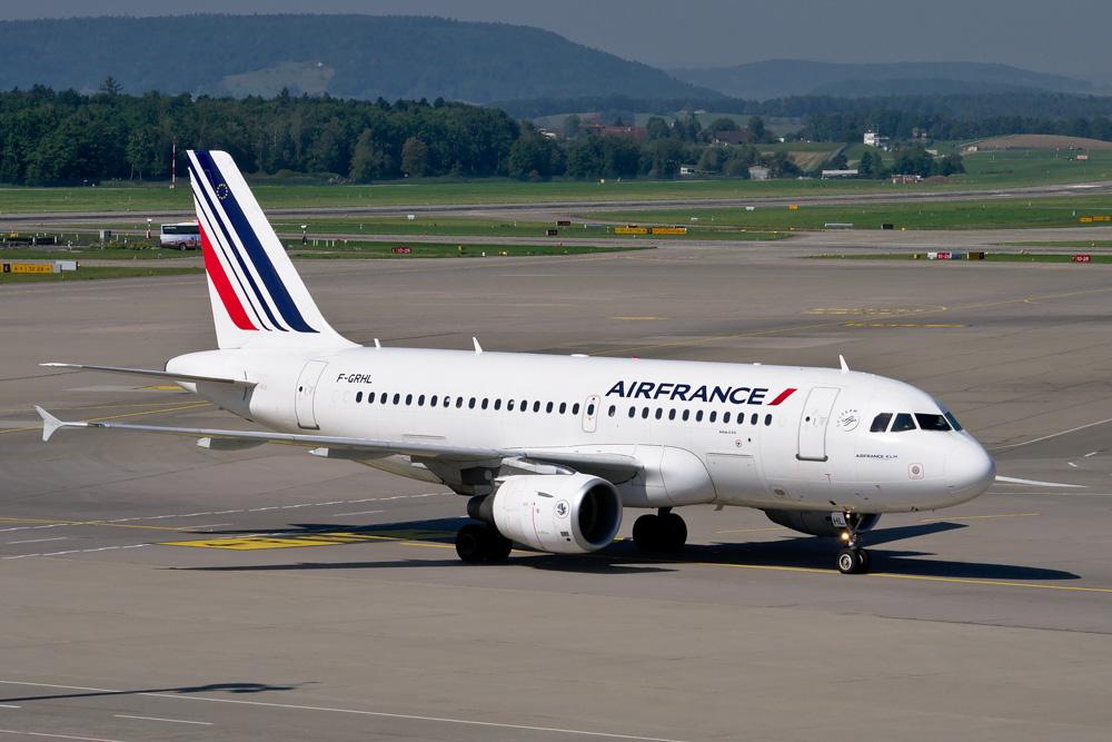 Air France flight delay