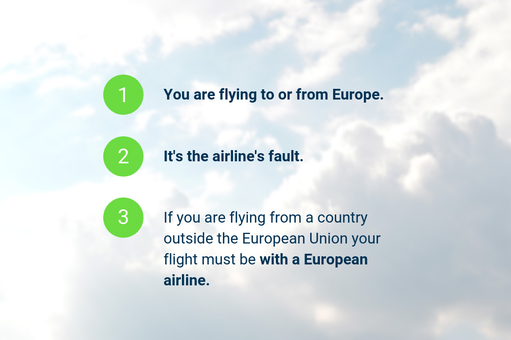 Flight cancellation compensation - Basics