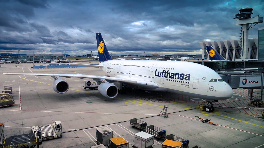 A380 Airbus airplane