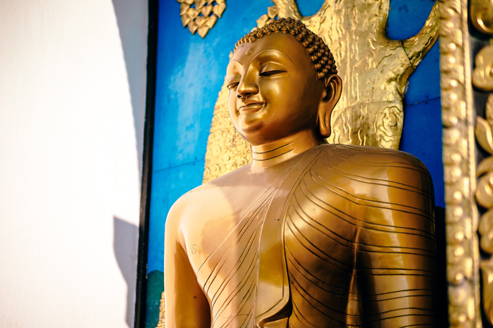 Myanmar - Buddha statue in a temple